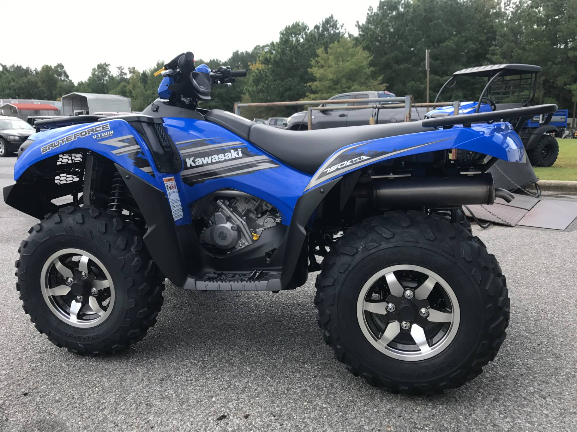 2018 Kawasaki Brute Force 750 4x4i EPS in Greenville, North Carolina - Photo 8