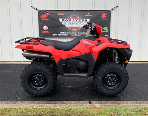 2019 Suzuki KingQuad 750AXi in Greenville, North Carolina