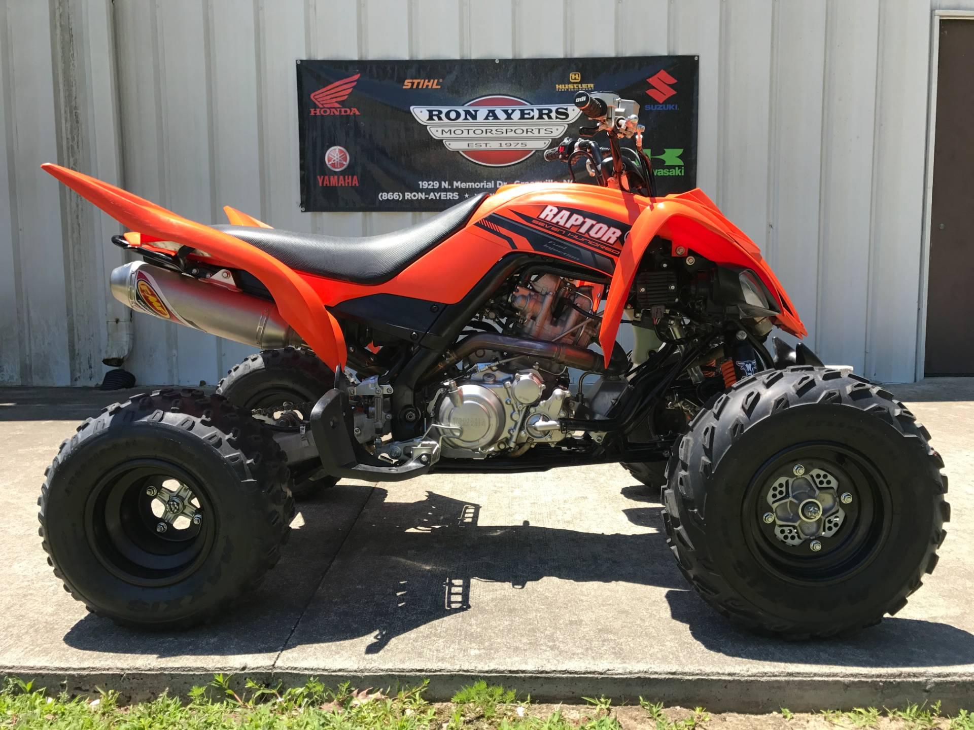 2017 Yamaha Raptor 700 1