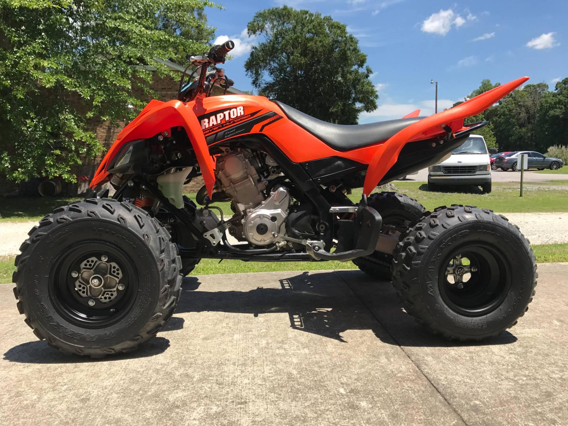 2017 Yamaha Raptor 700 6