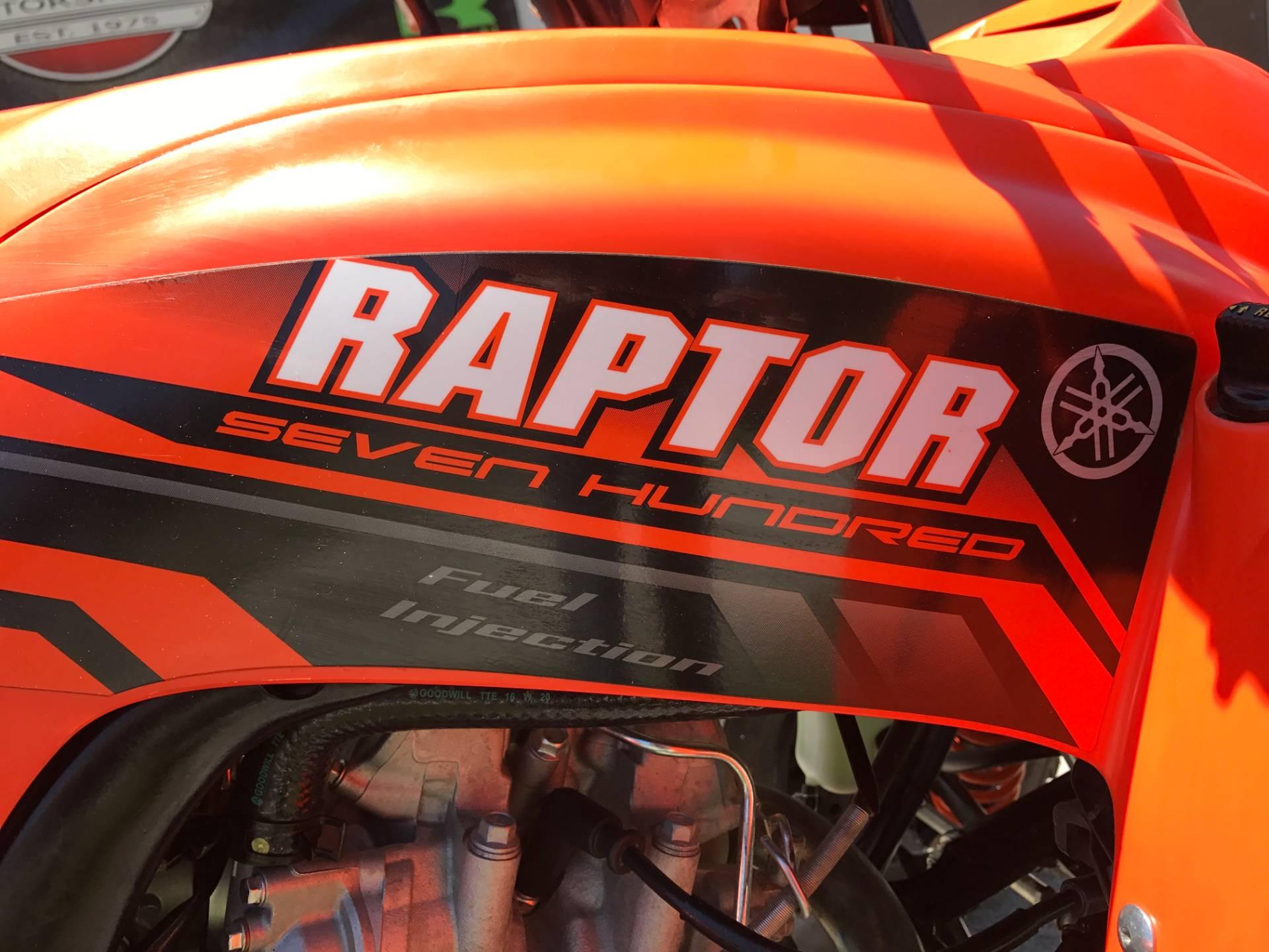 2017 Yamaha Raptor 700 12