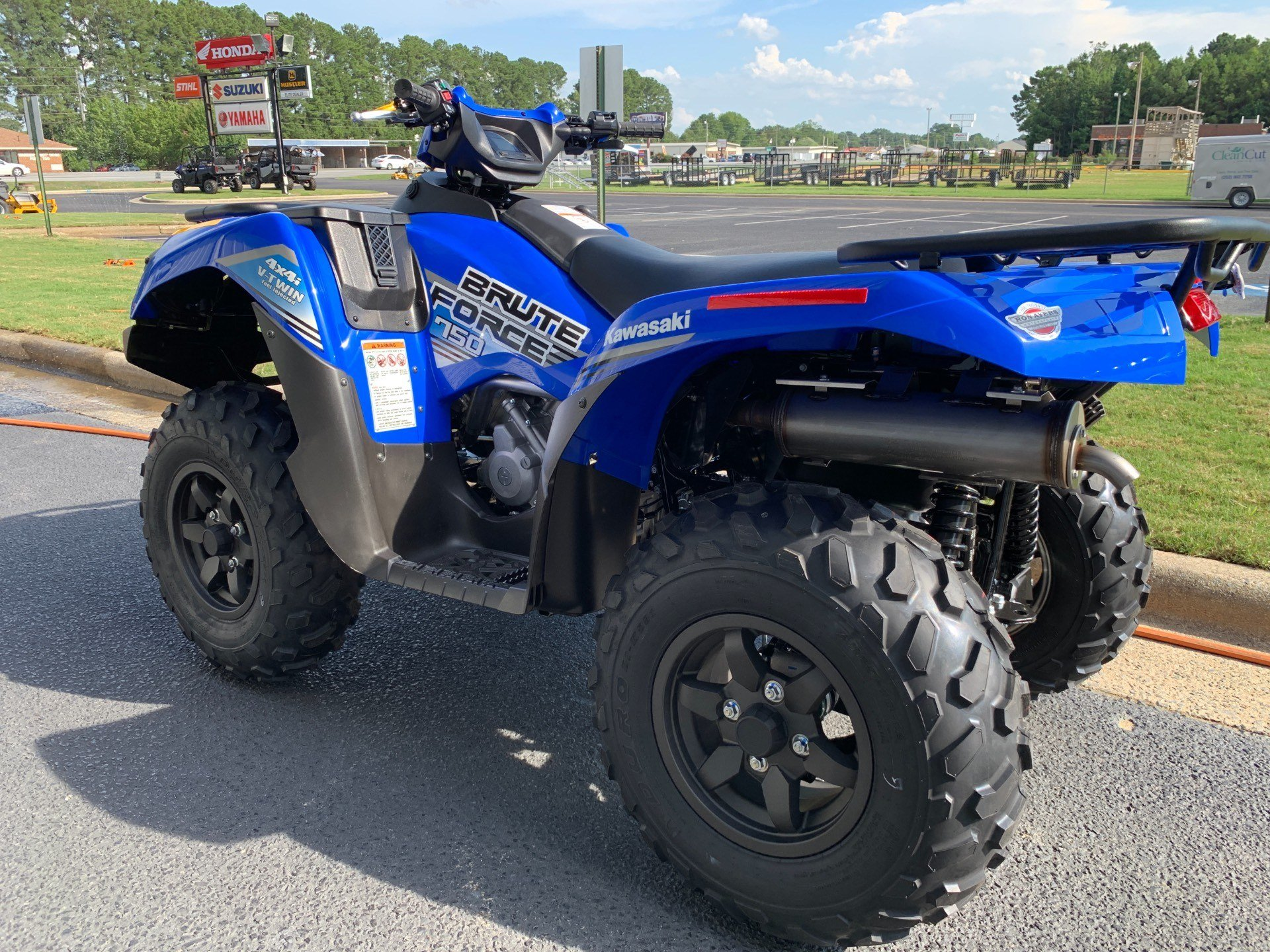 2020 Kawasaki Brute Force 750 4x4i EPS in Greenville, North Carolina - Photo 8
