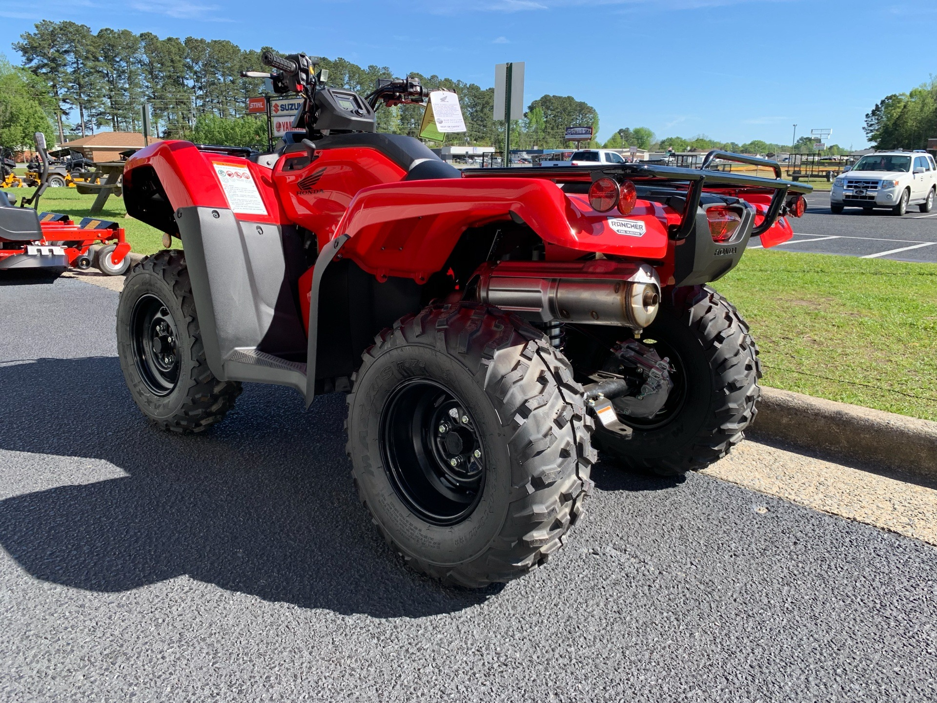 2019 Honda FourTrax Rancher 4x4 DCT EPS in Greenville, North Carolina - Photo 9