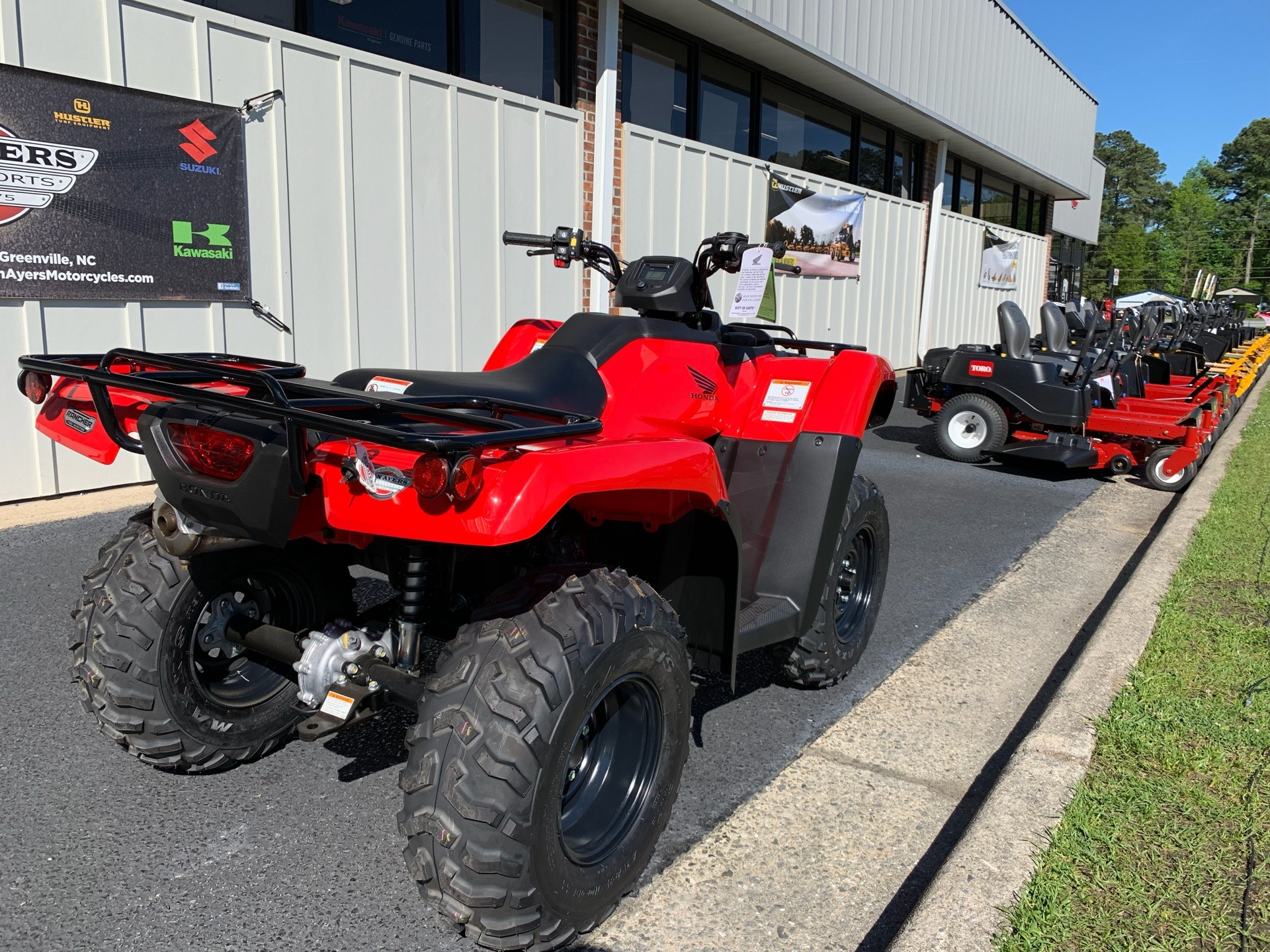 2019 Honda FourTrax Rancher 4x4 DCT EPS in Greenville, North Carolina - Photo 11