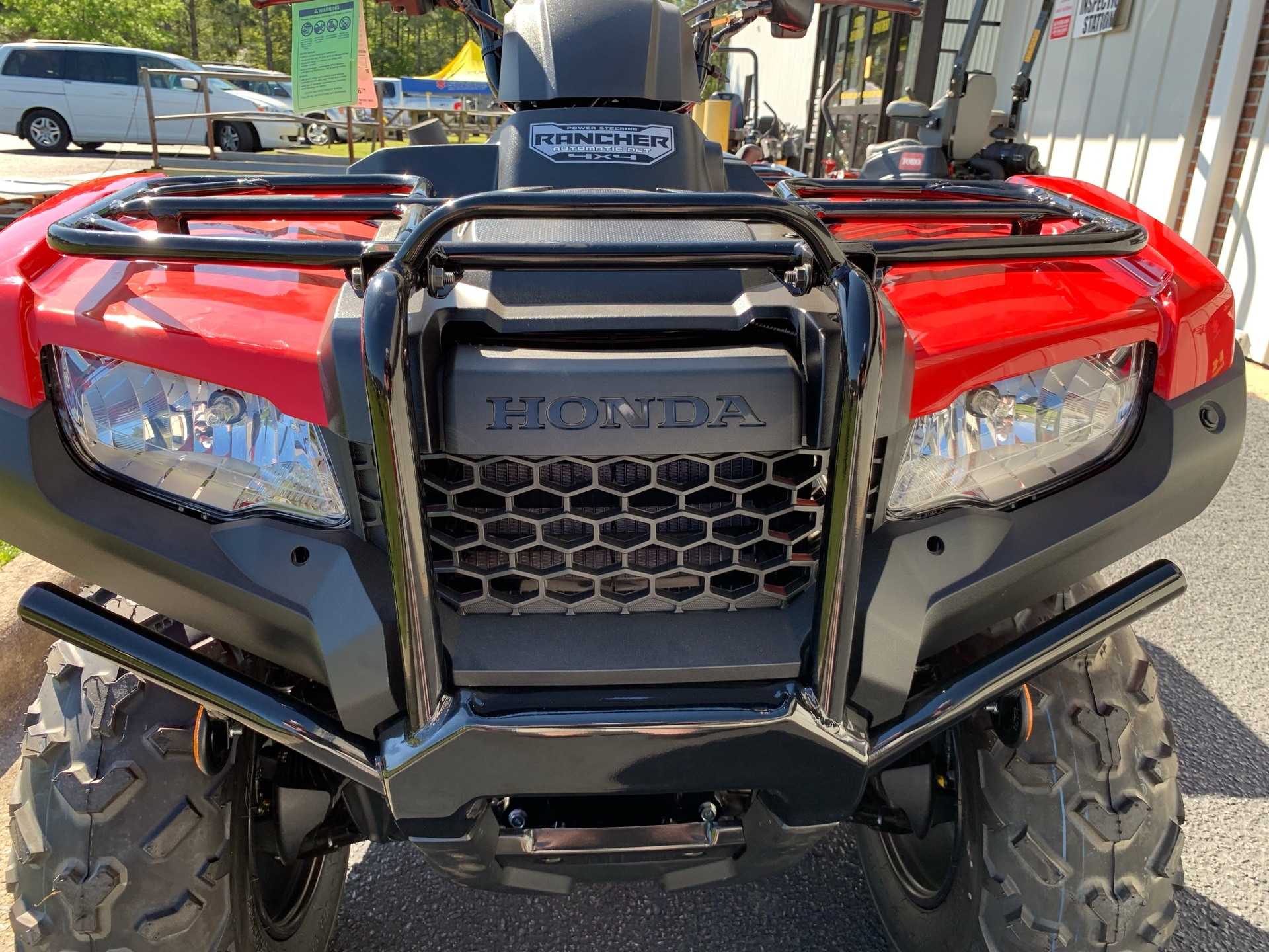 2019 Honda FourTrax Rancher 4x4 DCT EPS in Greenville, North Carolina - Photo 16
