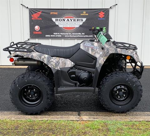 2019 Suzuki KingQuad 400ASi Camo in Greenville, North Carolina - Photo 1