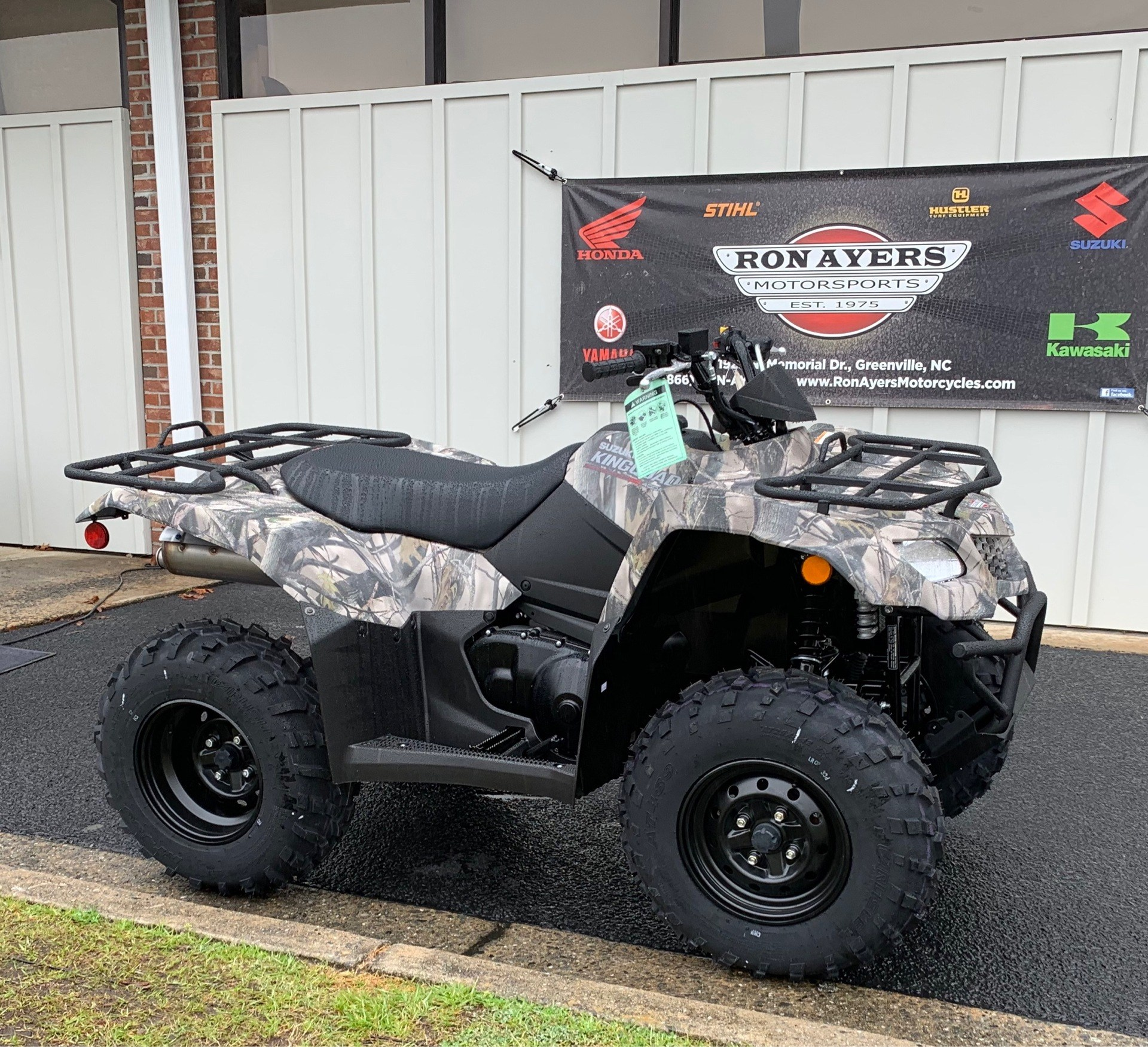 2019 Suzuki KingQuad 400ASi Camo in Greenville, North Carolina - Photo 2