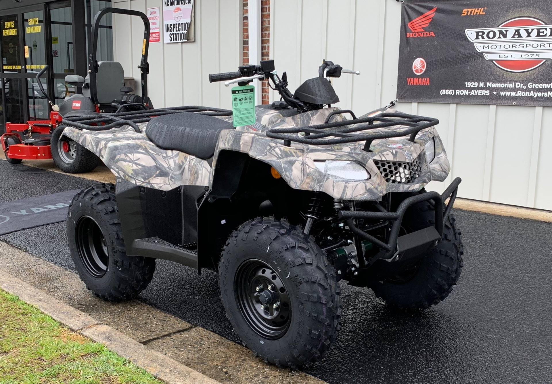 2019 Suzuki KingQuad 400ASi Camo in Greenville, North Carolina - Photo 3