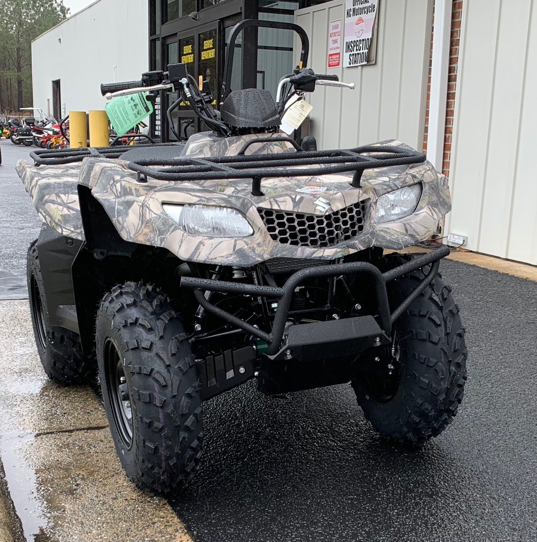 2019 Suzuki KingQuad 400ASi Camo in Greenville, North Carolina - Photo 4