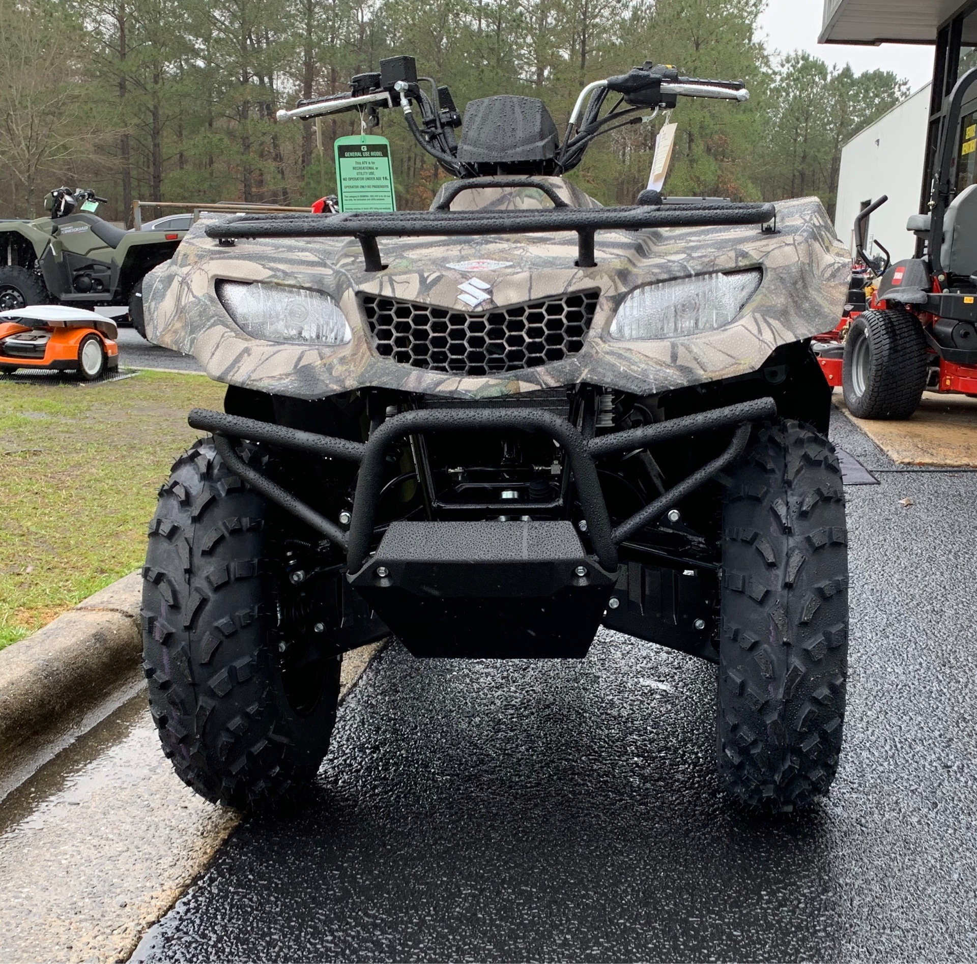 2019 Suzuki KingQuad 400ASi Camo in Greenville, North Carolina - Photo 5