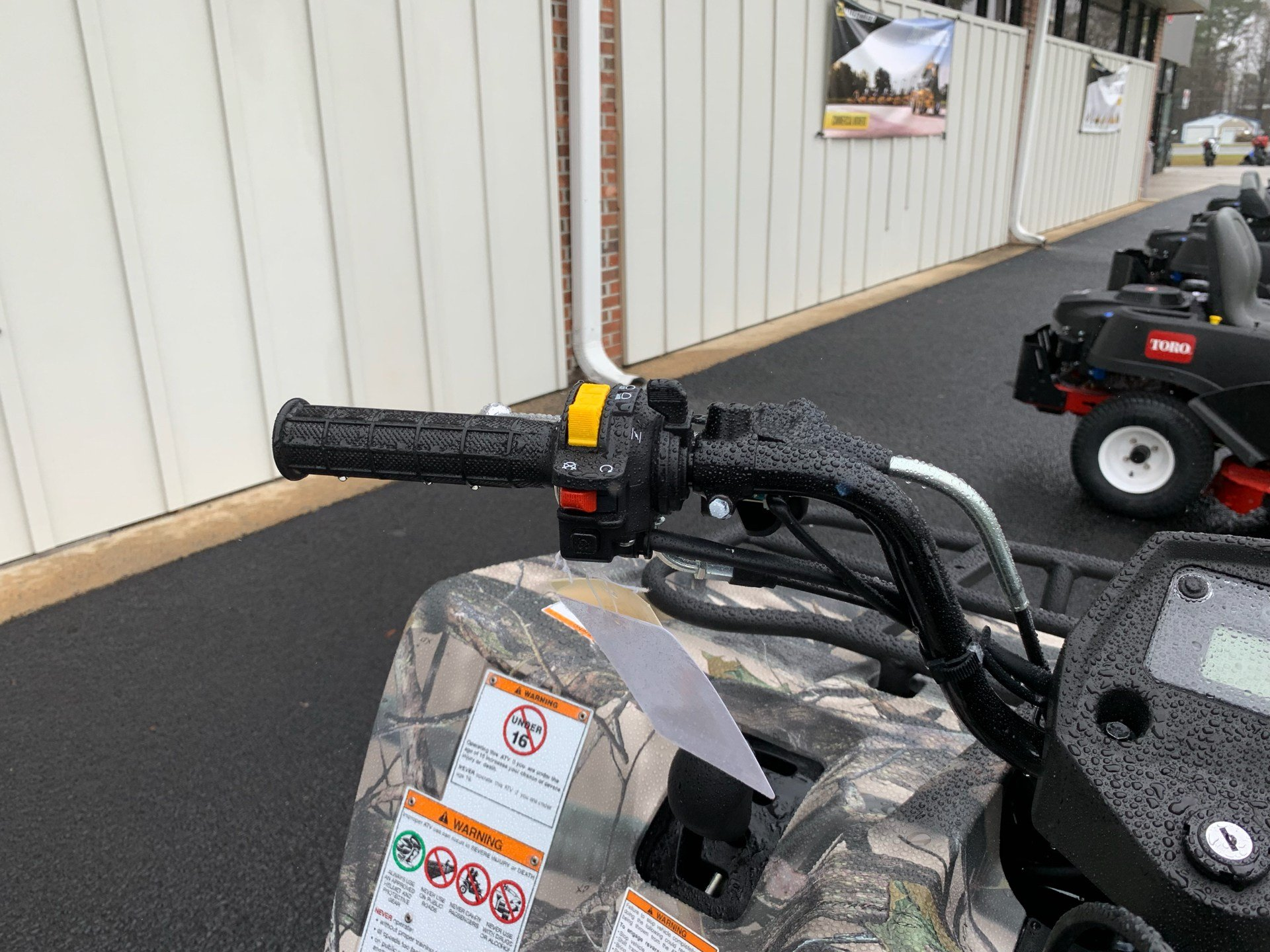 2019 Suzuki KingQuad 400ASi Camo in Greenville, North Carolina - Photo 10
