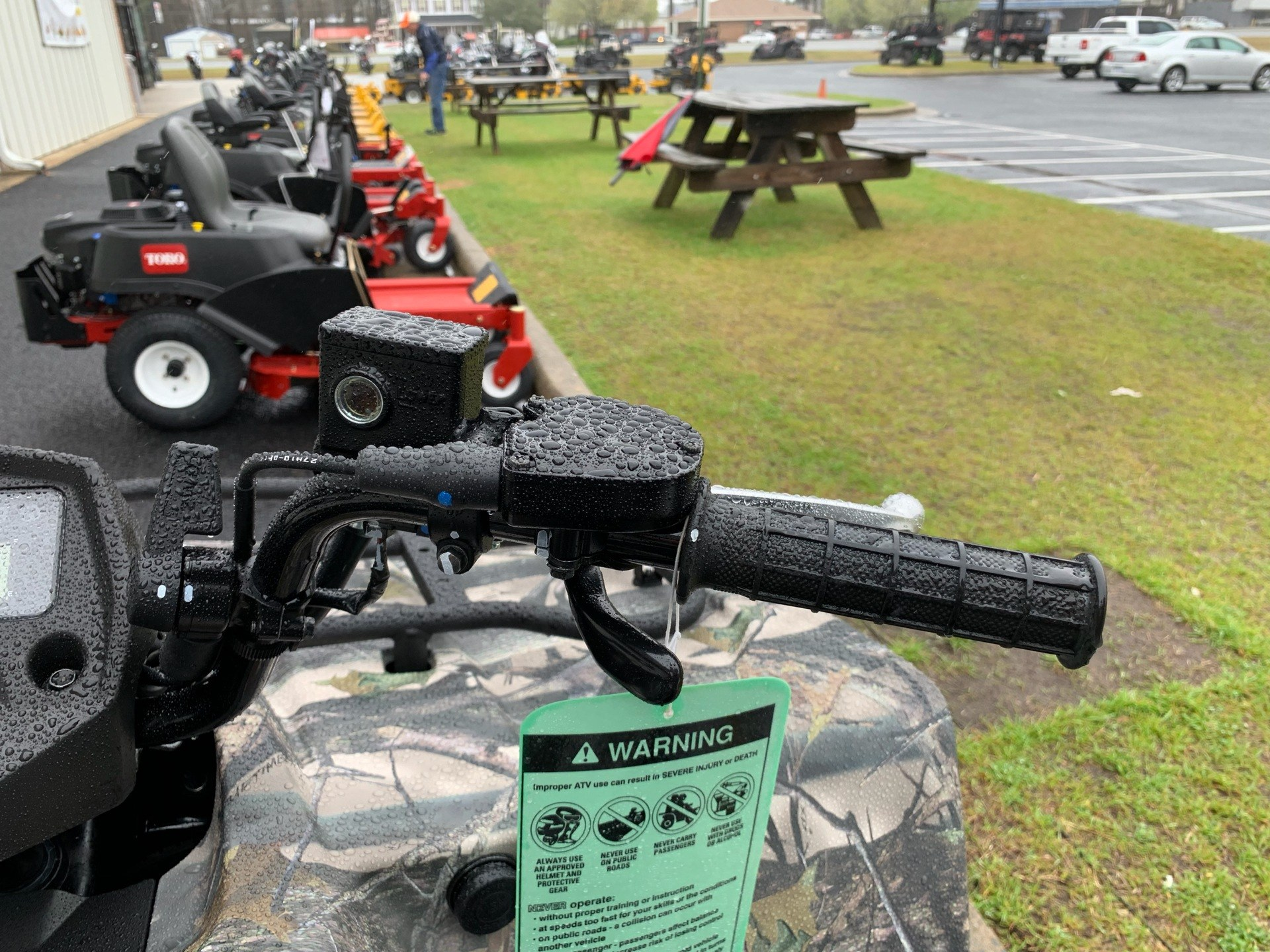 2019 Suzuki KingQuad 400ASi Camo in Greenville, North Carolina - Photo 12