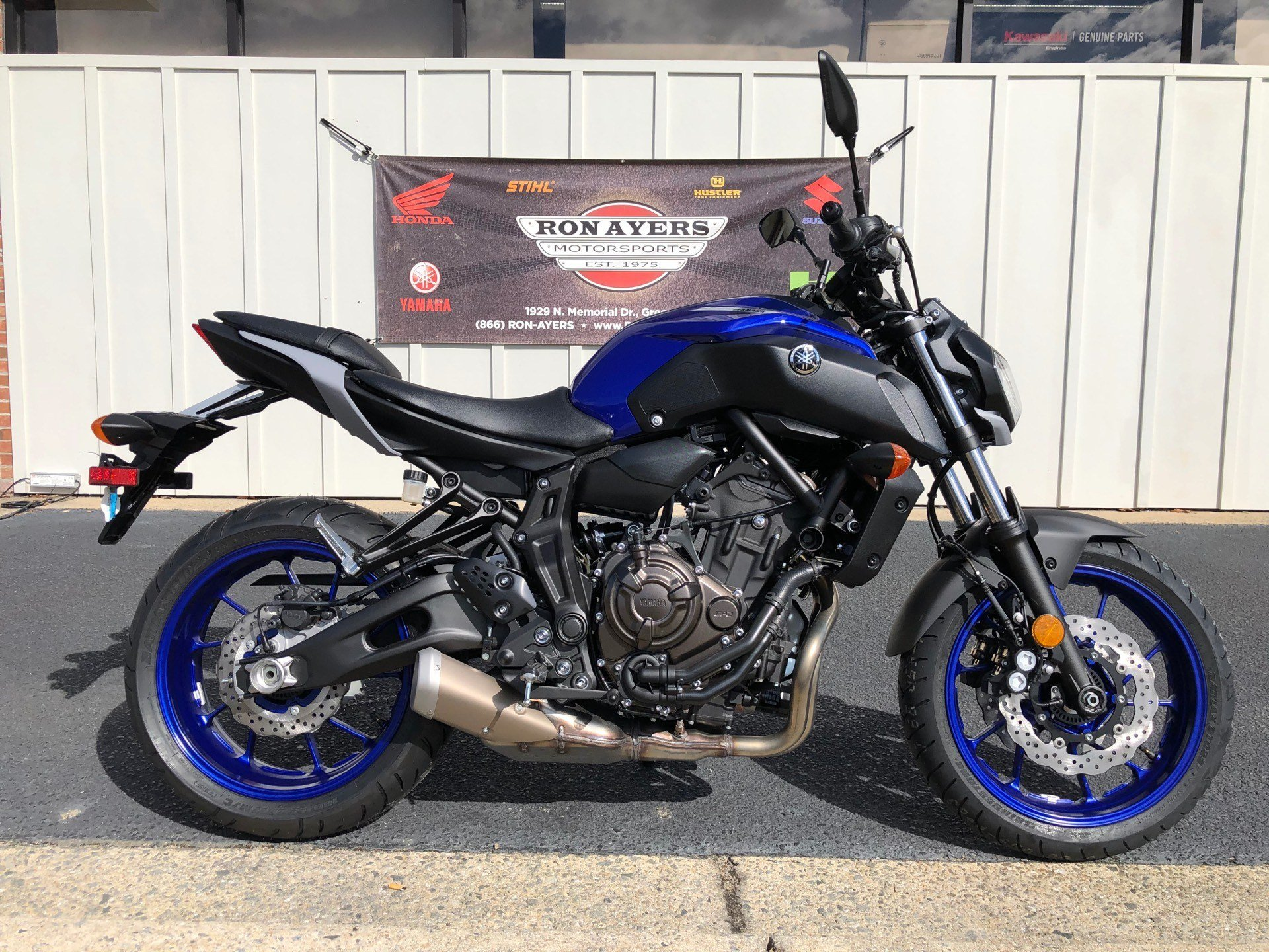 2020 Yamaha MT-07 in Greenville, North Carolina - Photo 1