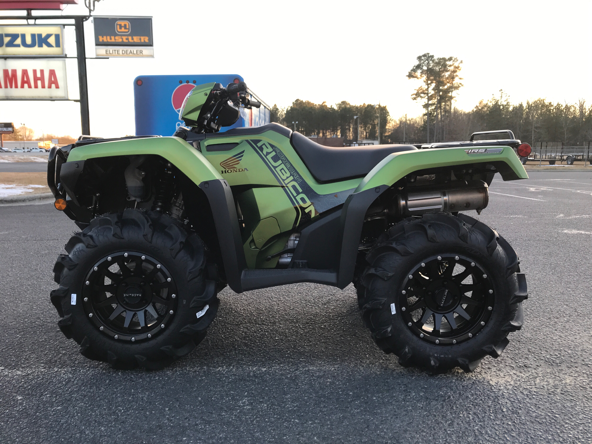 2021 Honda FourTrax Foreman Rubicon 4x4 EPS in Greenville, North Carolina - Photo 5