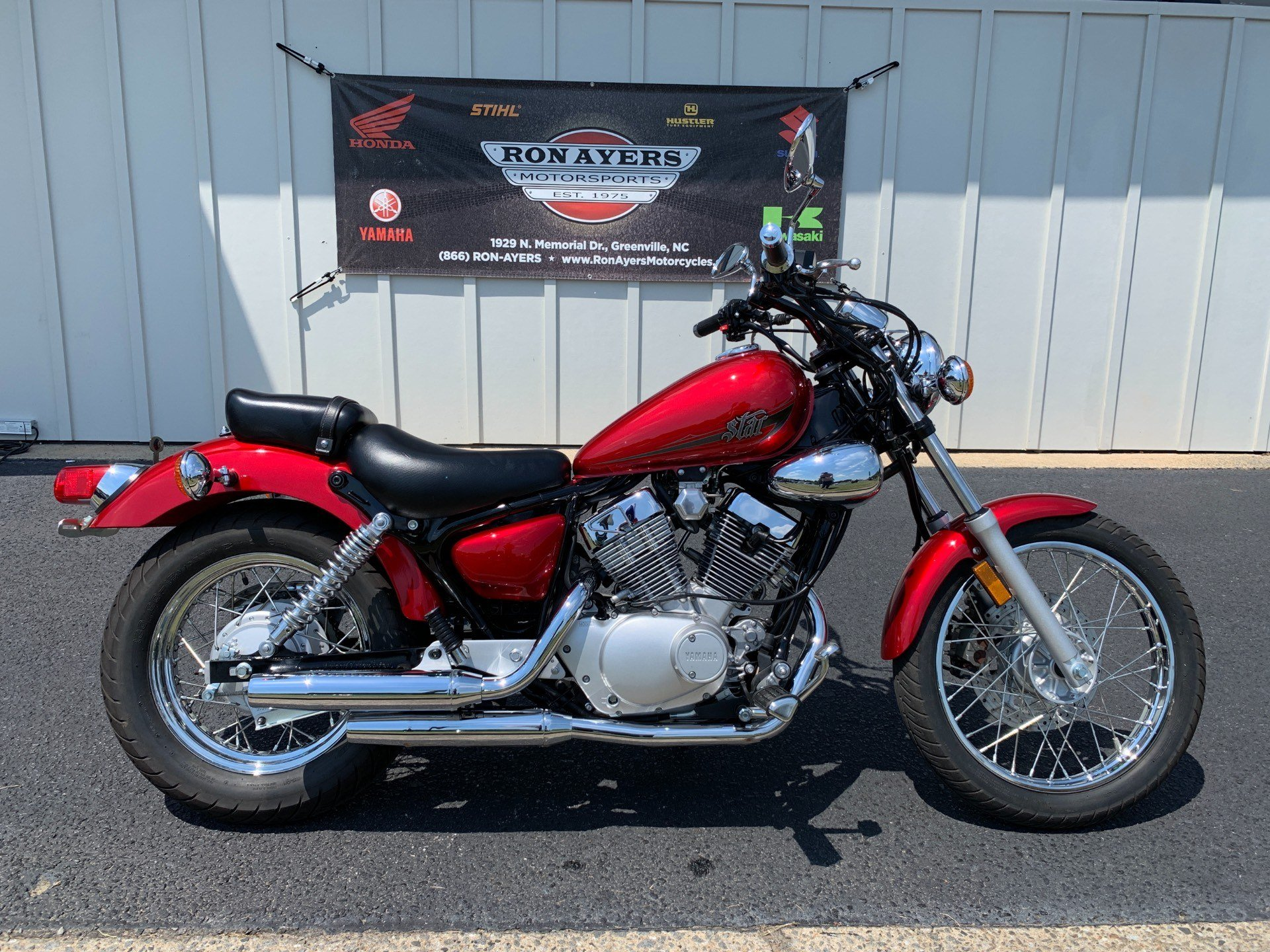 2014 Yamaha V Star 250 in Greenville, North Carolina - Photo 1