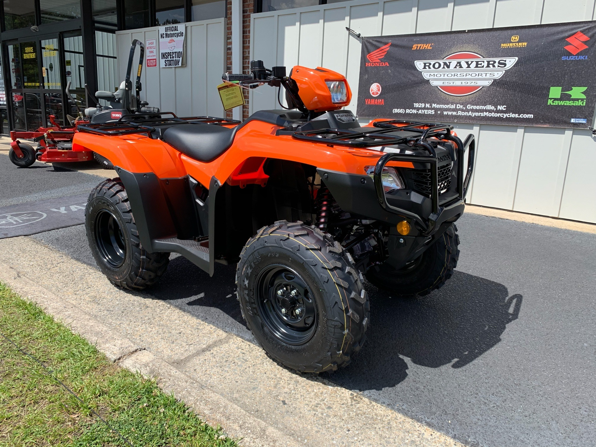 2019 Honda FourTrax Foreman 4x4 ES EPS in Greenville, North Carolina - Photo 3