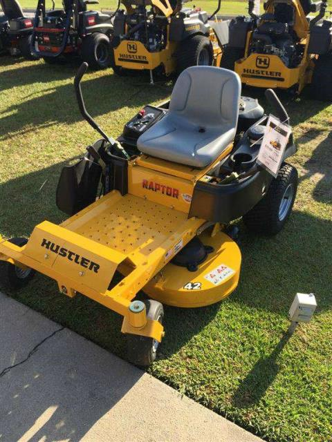 2016 Hustler Turf Equipment Raptor 42 in. in Greenville, North Carolina