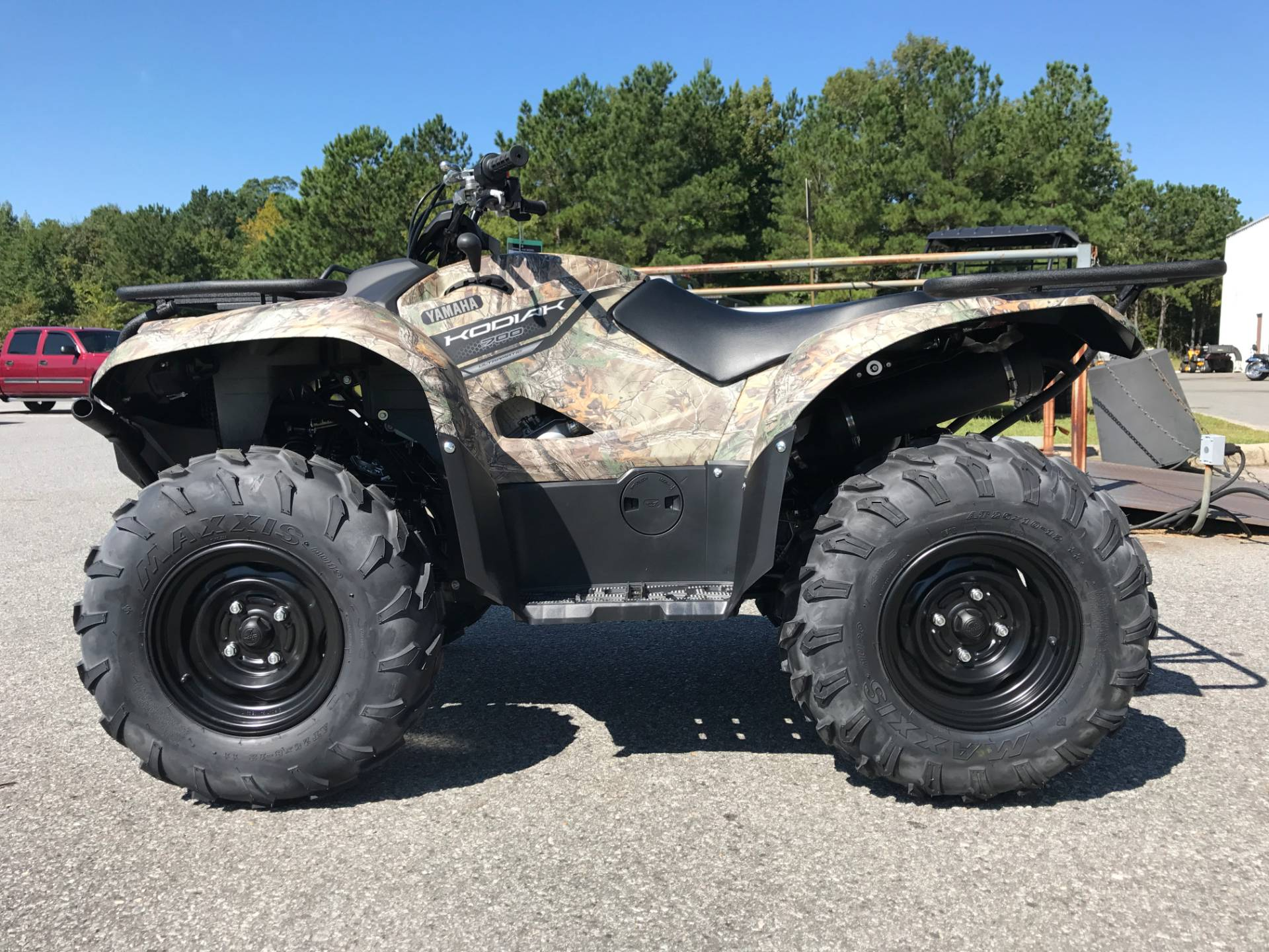 2018 Yamaha Kodiak 700 in Greenville, North Carolina