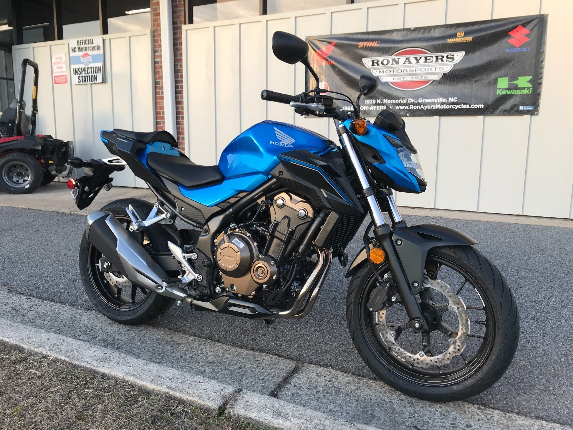 2018 Honda CB500F in Greenville, North Carolina