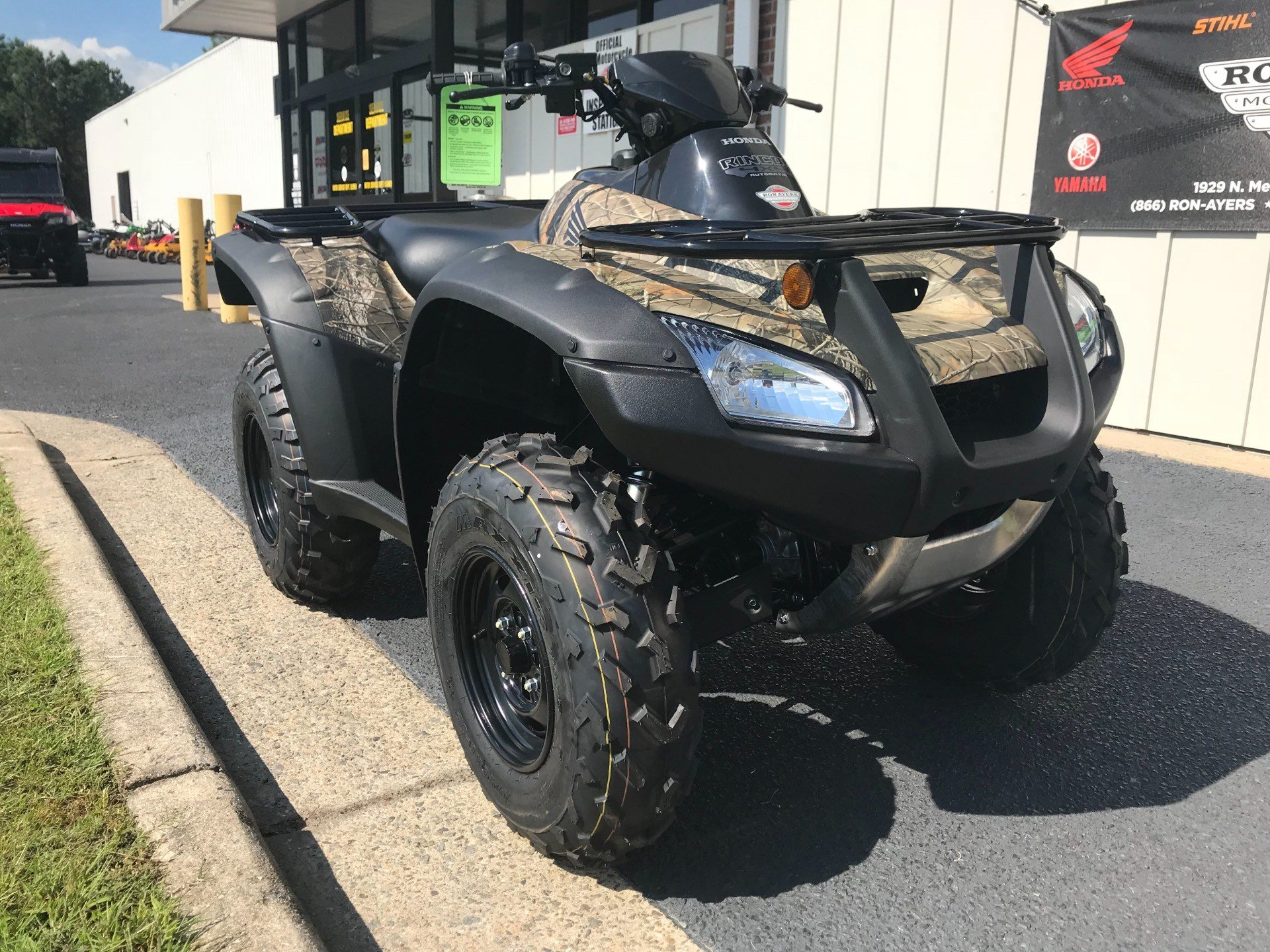 2019 Honda FourTrax Rincon in Greenville, North Carolina - Photo 3