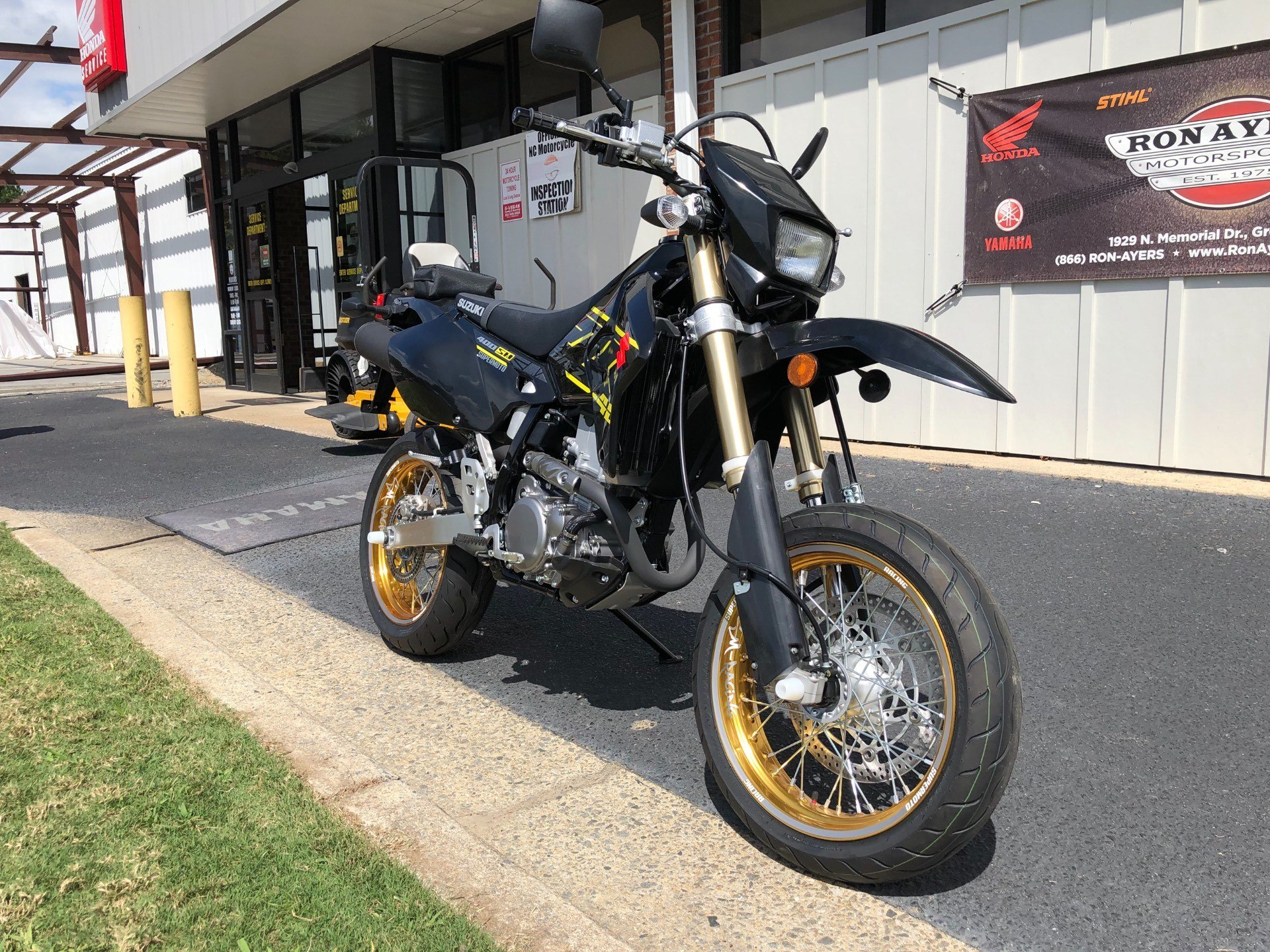 2018 Suzuki DR-Z400SM in Greenville, North Carolina - Photo 3