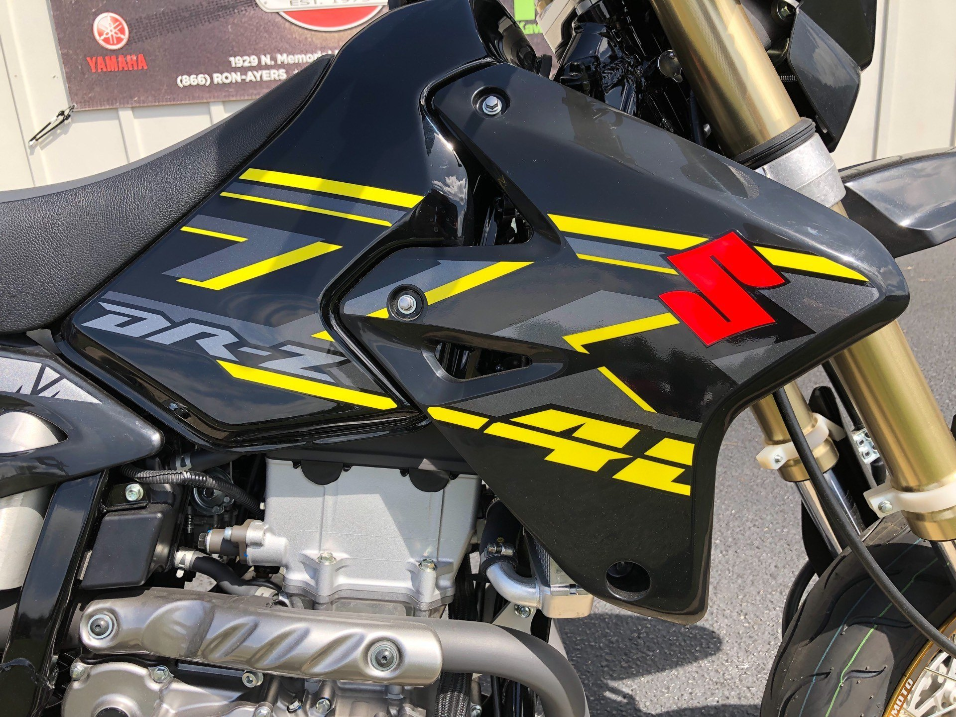 2018 Suzuki DR-Z400SM in Greenville, North Carolina - Photo 16
