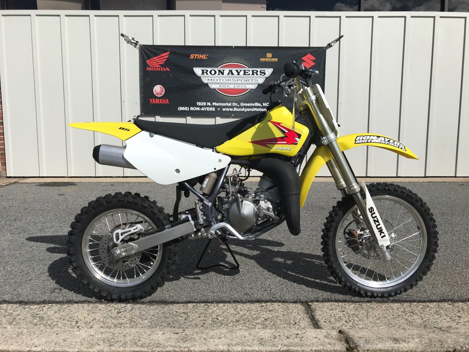 New 2015 Suzuki RM85 Motorcycles in Greenville NC
