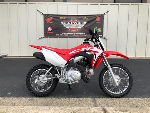 2020 Honda CRF110F in Greenville, North Carolina
