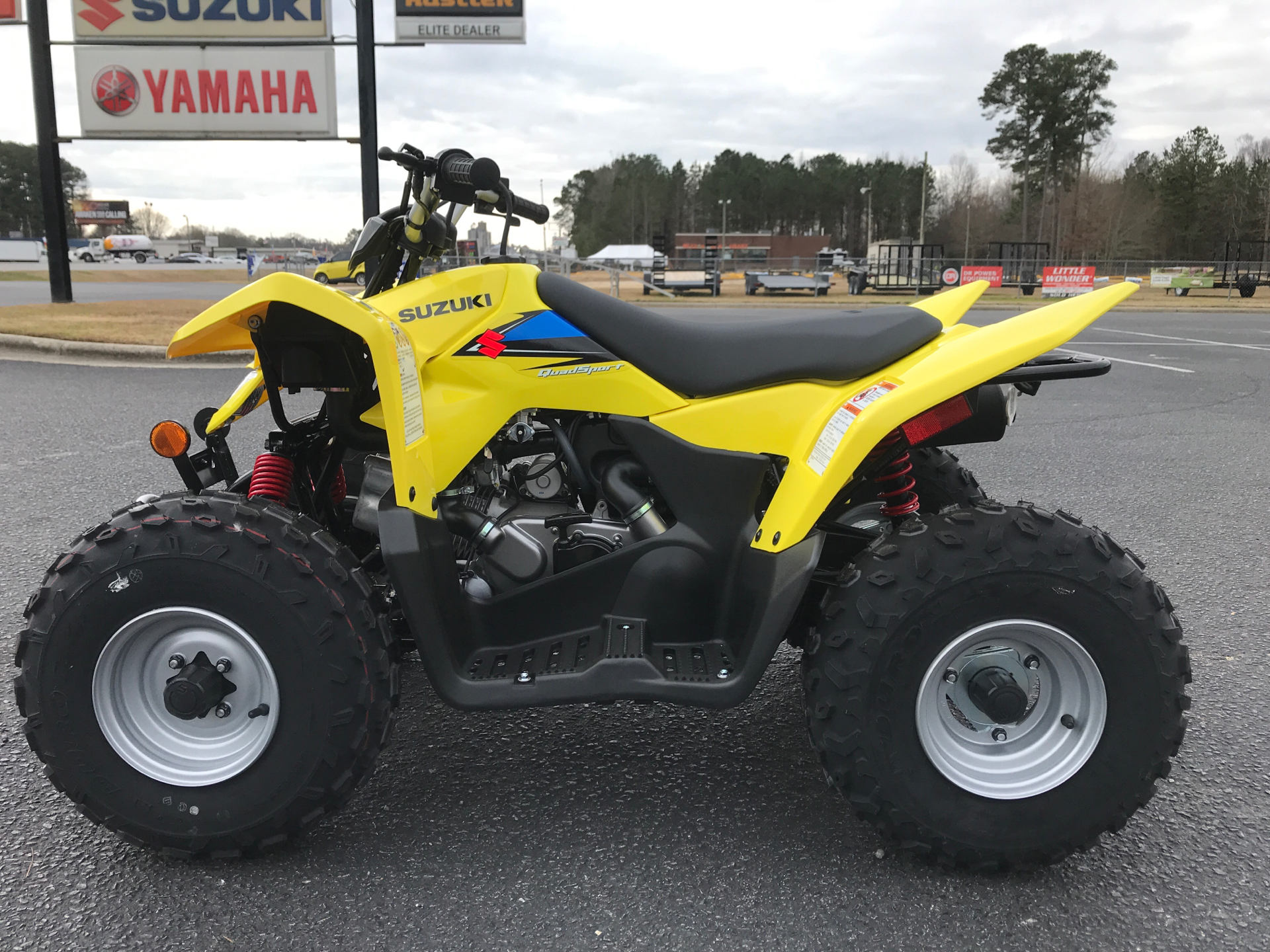 2021 Suzuki QuadSport Z90 in Greenville, North Carolina - Photo 5