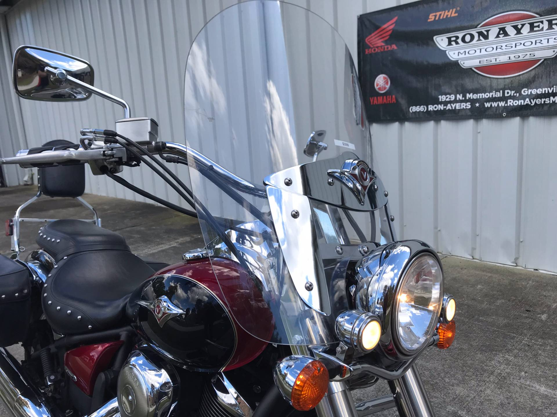 2008 Kawasaki Vulcan® 900 Classic LT in Greenville, North Carolina