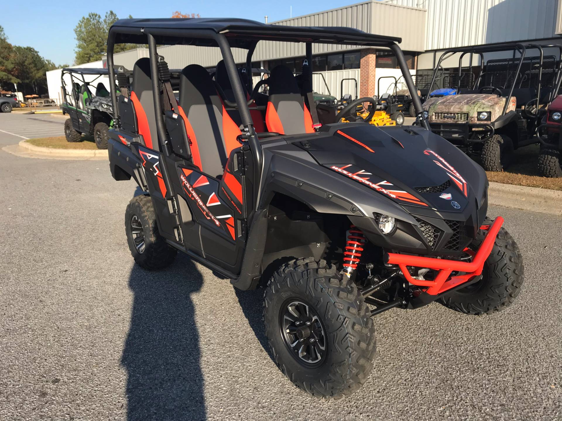 2018 Yamaha Wolverine X4 SE in Greenville, North Carolina - Photo 3