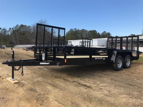 2021 Holmes 6.10 x 18 7k axle in Greenville, North Carolina