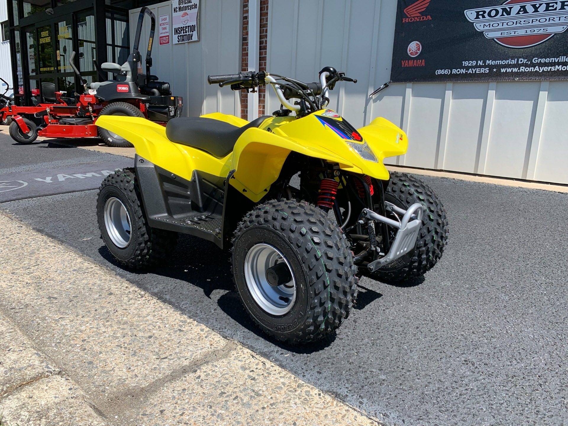 2019 Suzuki QuadSport Z50 in Greenville, North Carolina - Photo 3