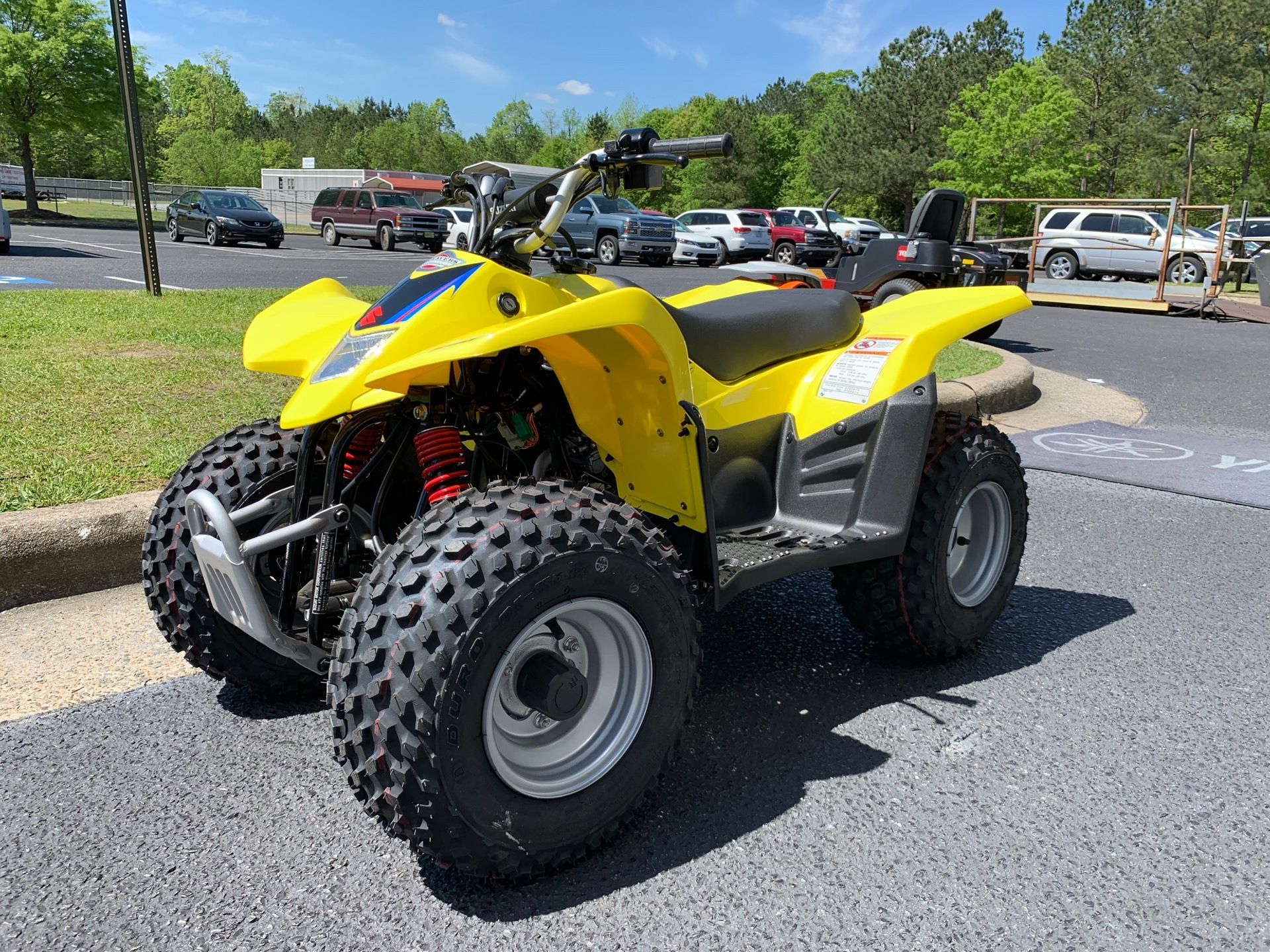 2019 Suzuki QuadSport Z50 in Greenville, North Carolina - Photo 6