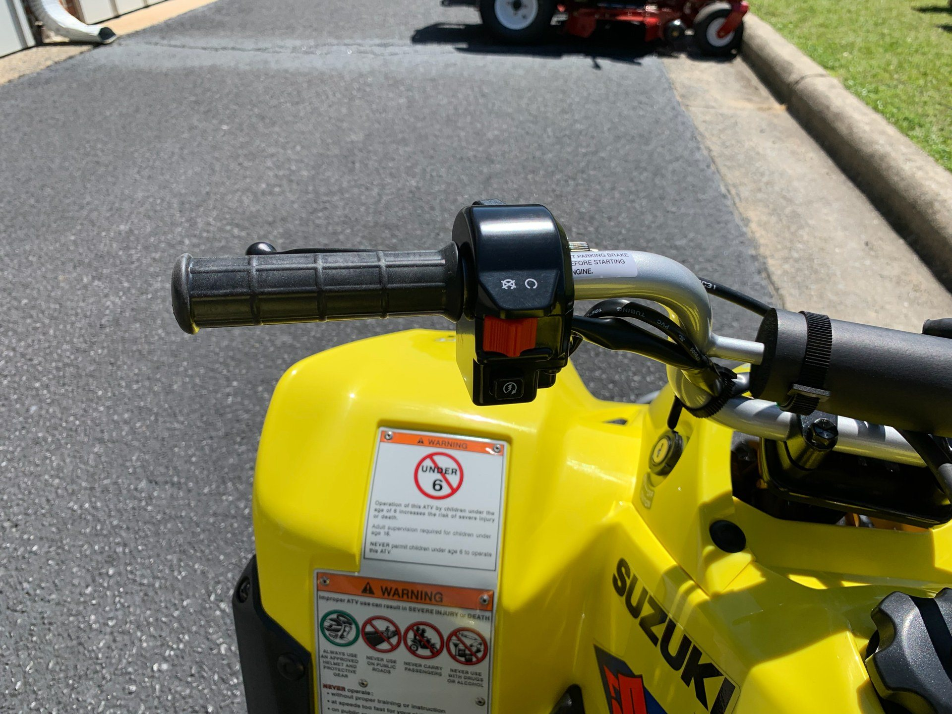 2019 Suzuki QuadSport Z50 in Greenville, North Carolina - Photo 13