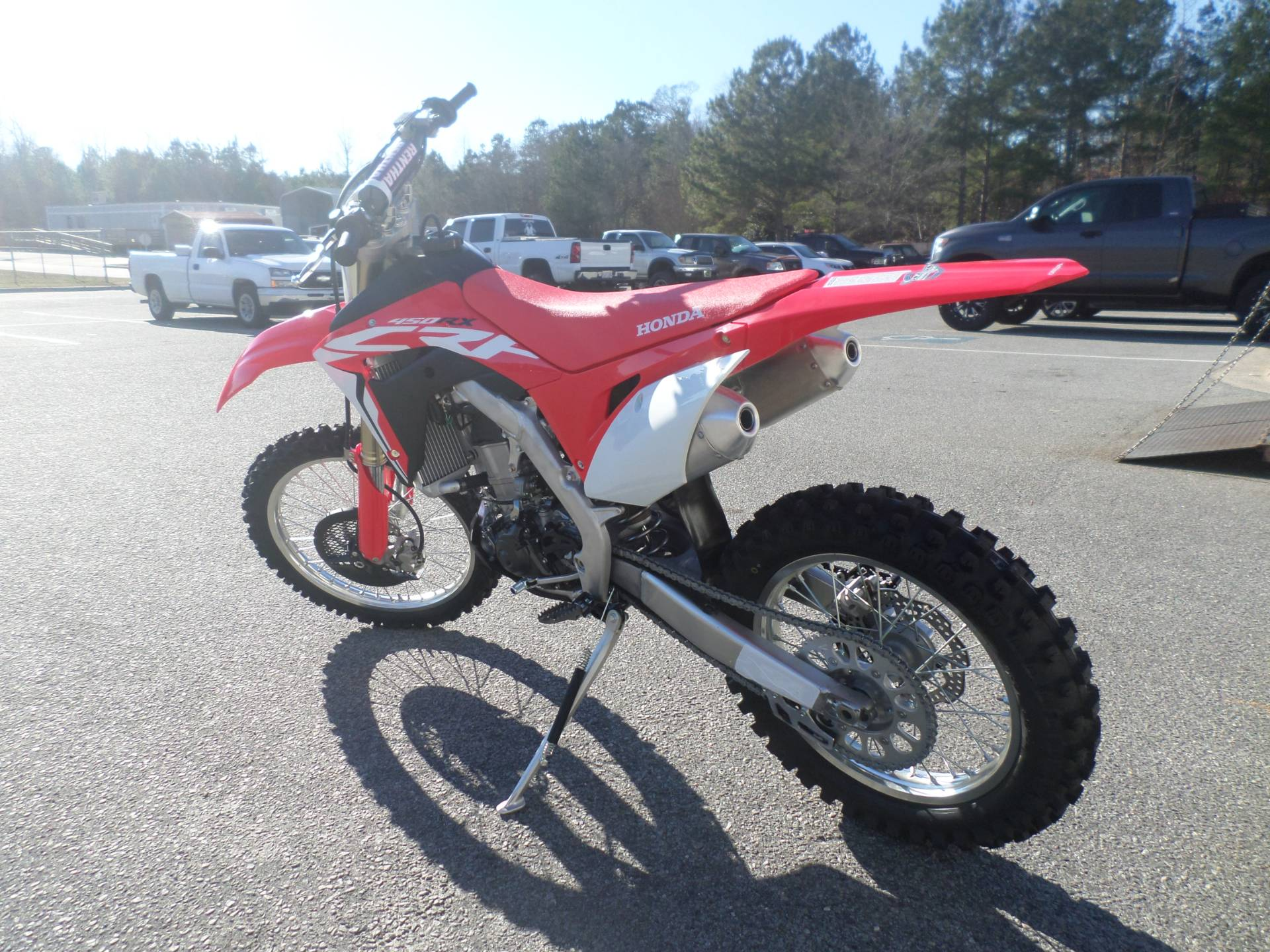 2017 Honda CRF450RX in Greenville, North Carolina