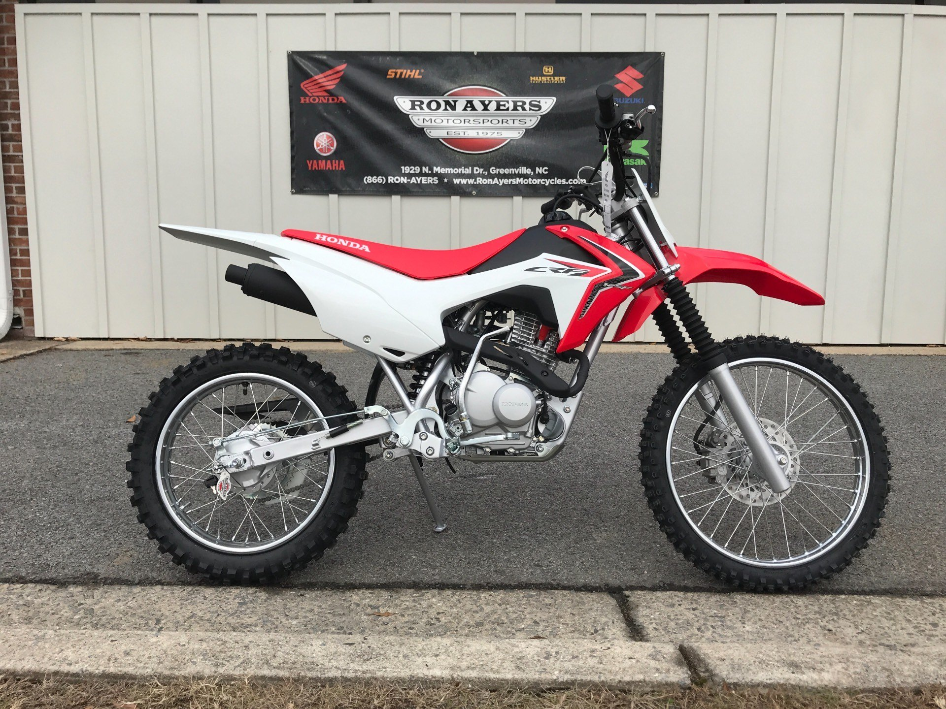 2018 Honda CRF125F (Big Wheel) in Greenville, North Carolina - Photo 1