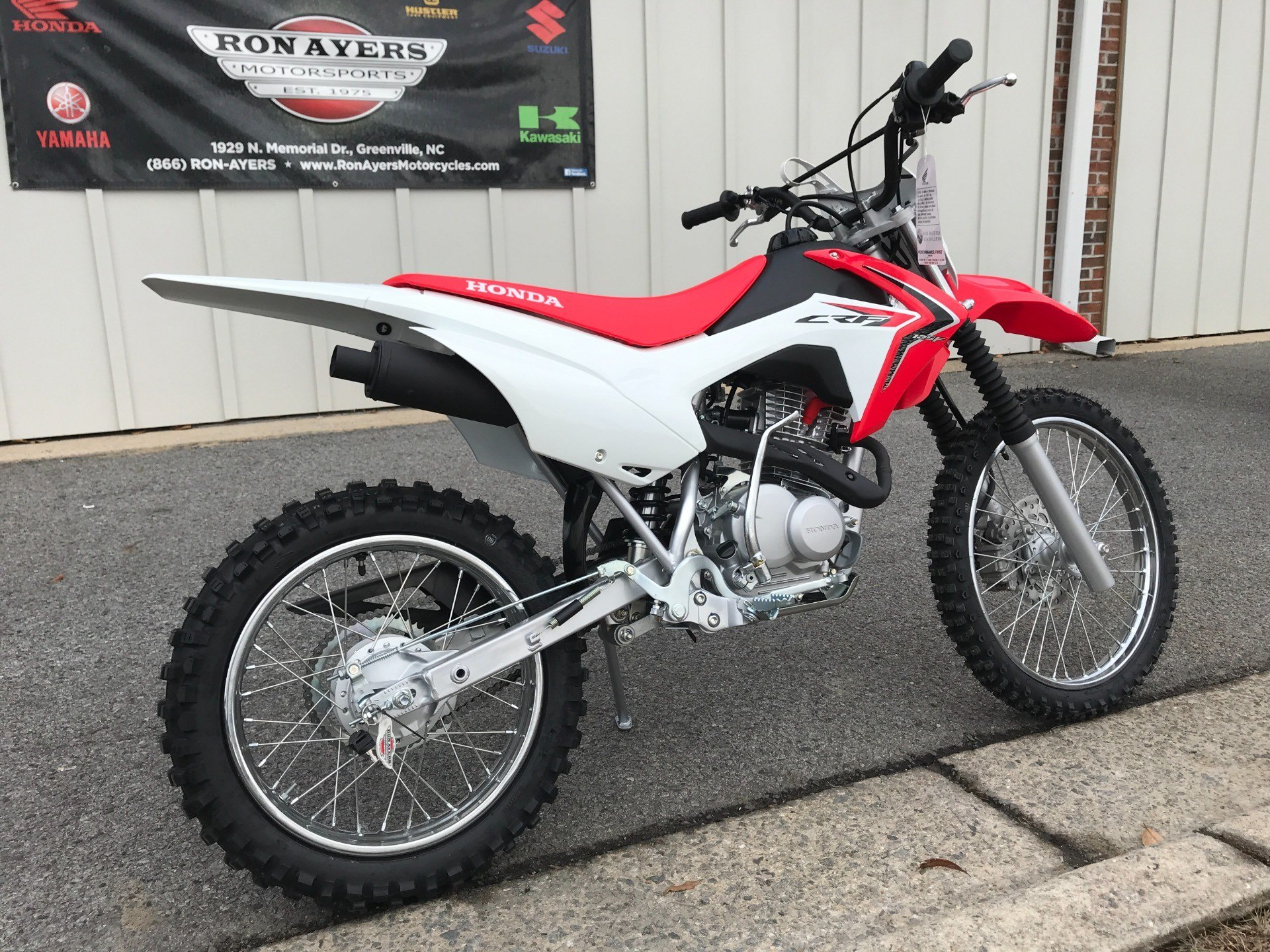 2018 Honda CRF125F (Big Wheel) in Greenville, North Carolina - Photo 12