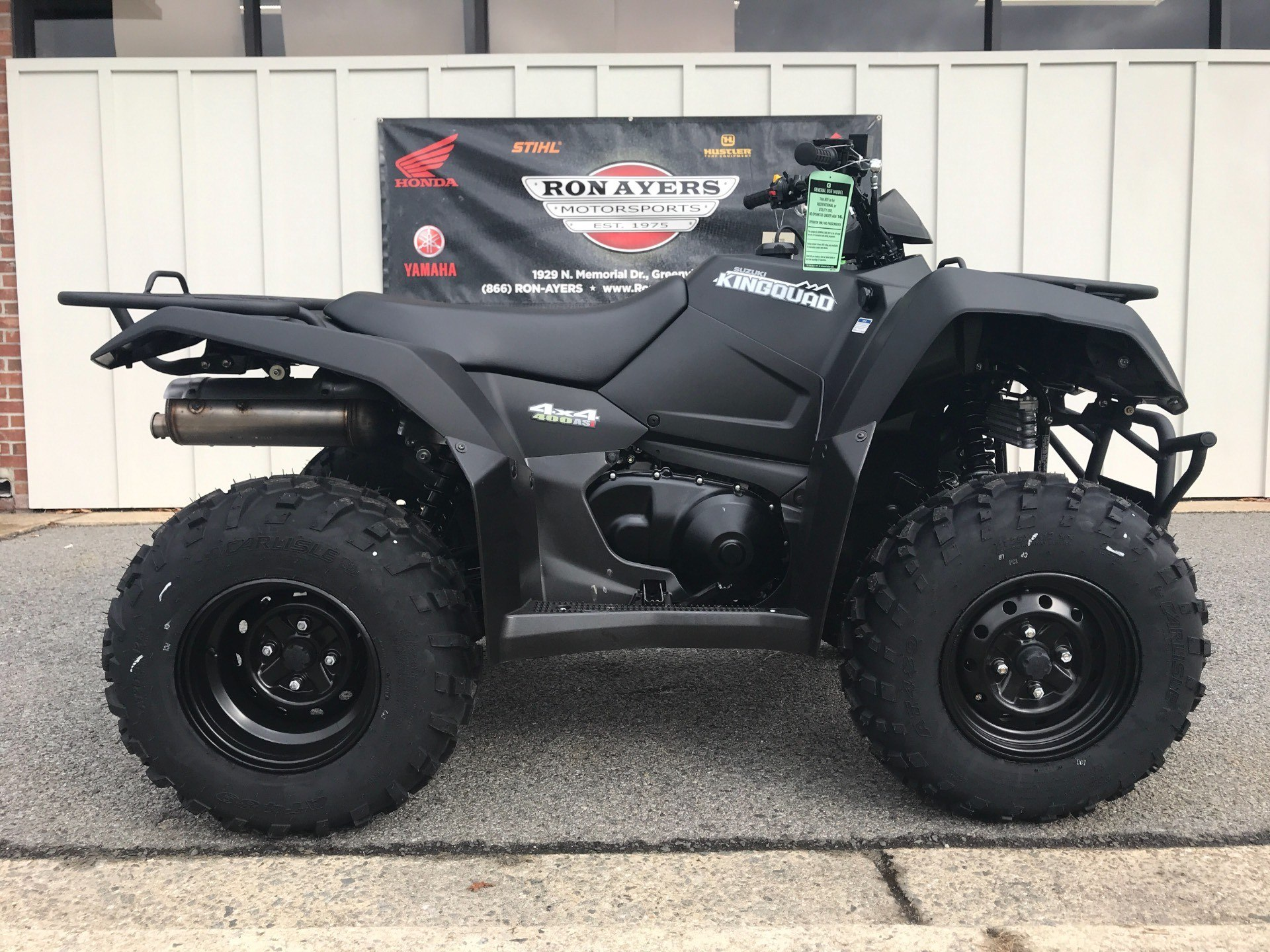 2018 Suzuki KingQuad 400ASi Special Edition in Greenville, North Carolina