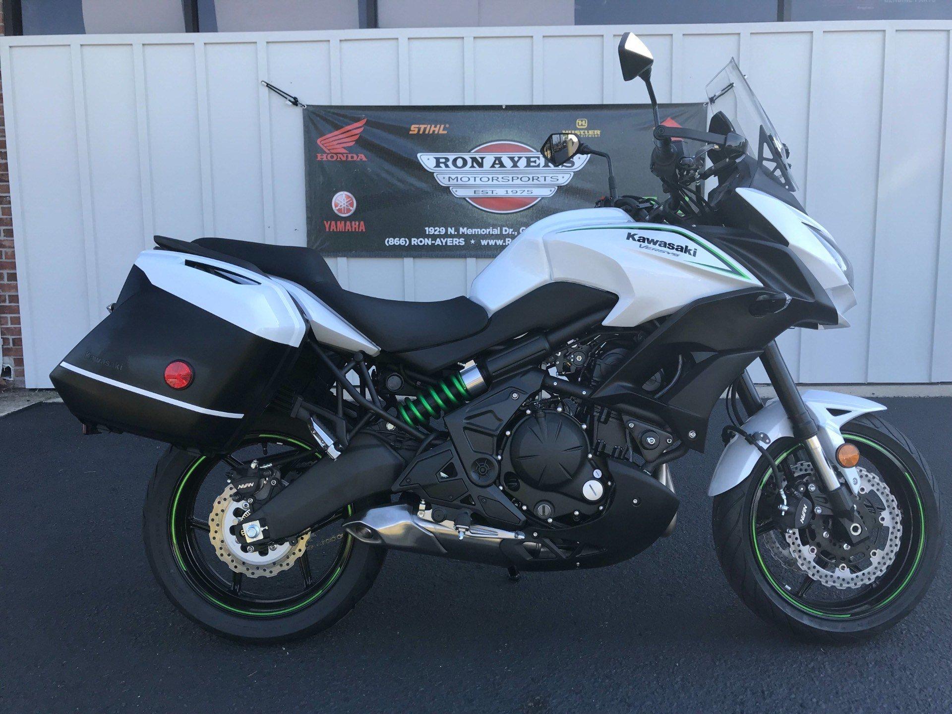 2018 Kawasaki Versys 650 LT 1