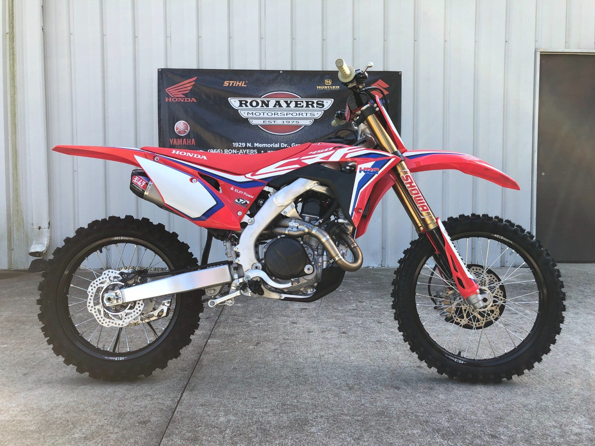 2020 Honda CRF450RWE in Greenville, North Carolina - Photo 1