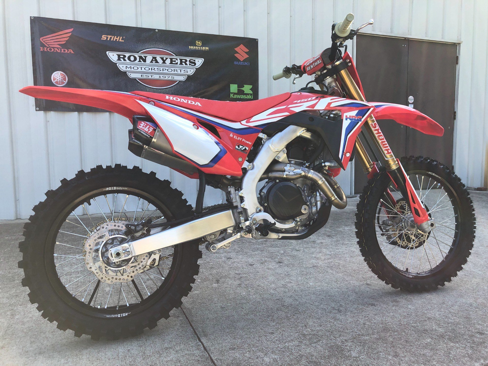 2020 Honda CRF450RWE in Greenville, North Carolina - Photo 12