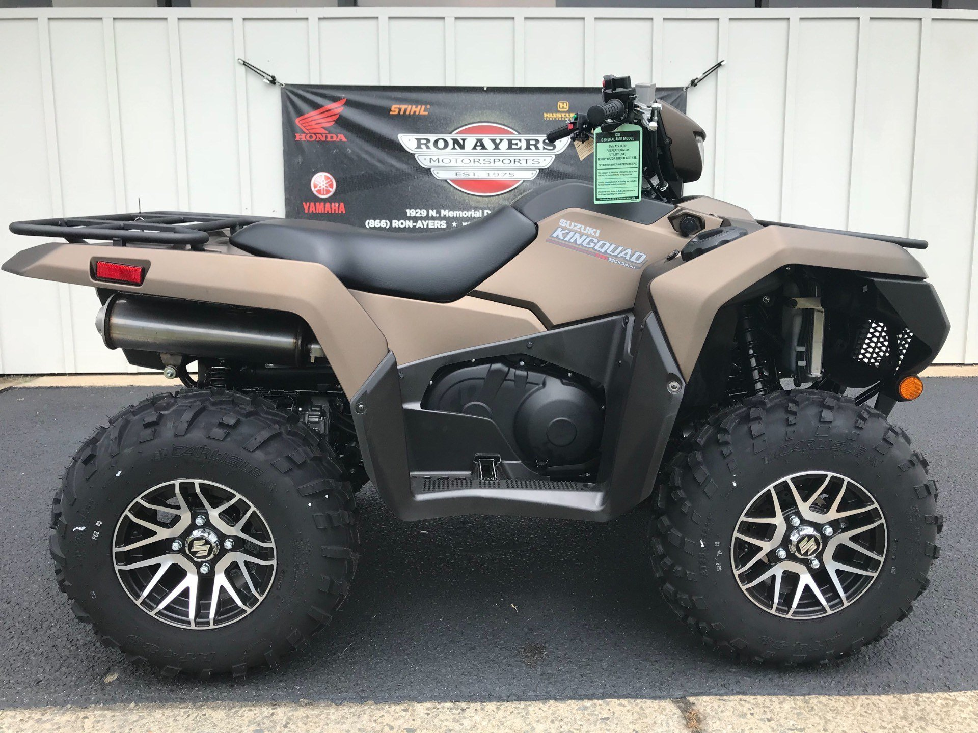 2019 Suzuki KingQuad 500AXi Power Steering SE+ in Greenville, North Carolina - Photo 1
