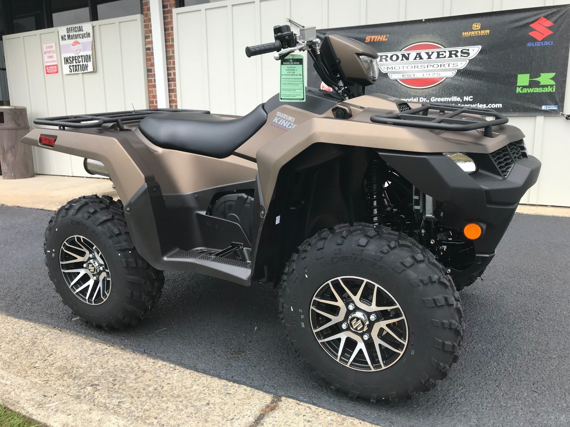 2019 Suzuki KingQuad 500AXi Power Steering SE+ in Greenville, North Carolina - Photo 2