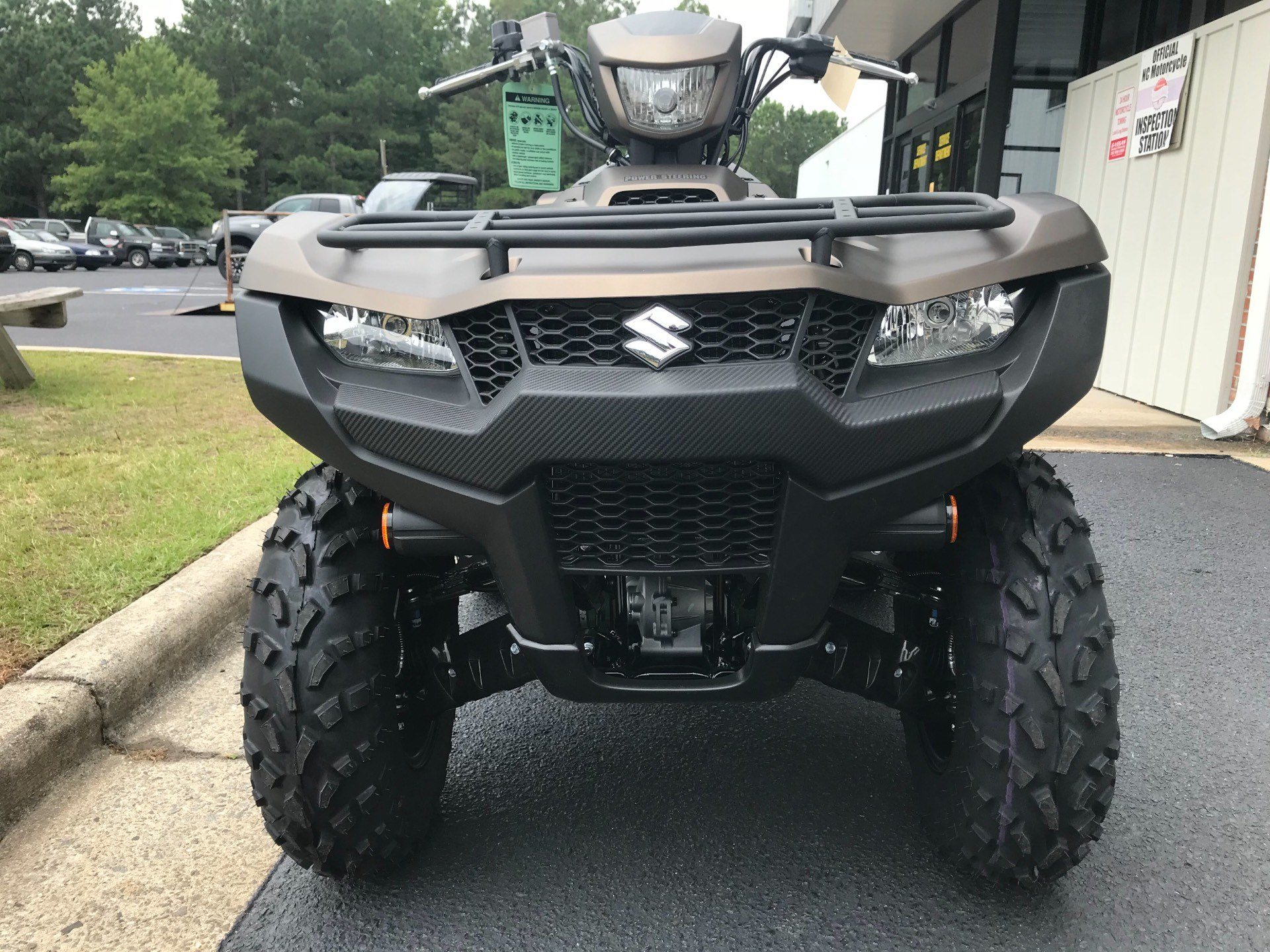 2019 Suzuki KingQuad 500AXi Power Steering SE+ in Greenville, North Carolina - Photo 4