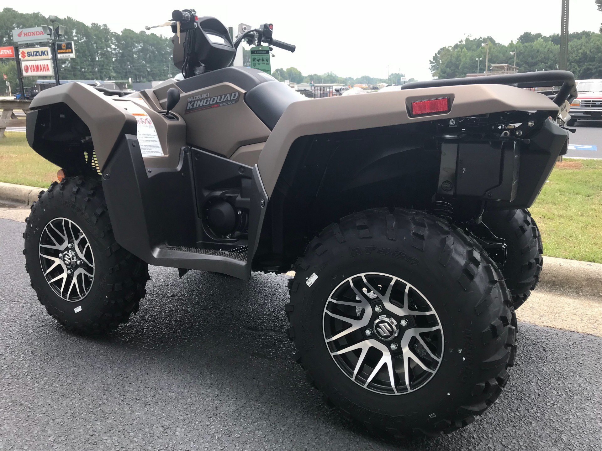 2019 Suzuki KingQuad 500AXi Power Steering SE+ in Greenville, North Carolina - Photo 8