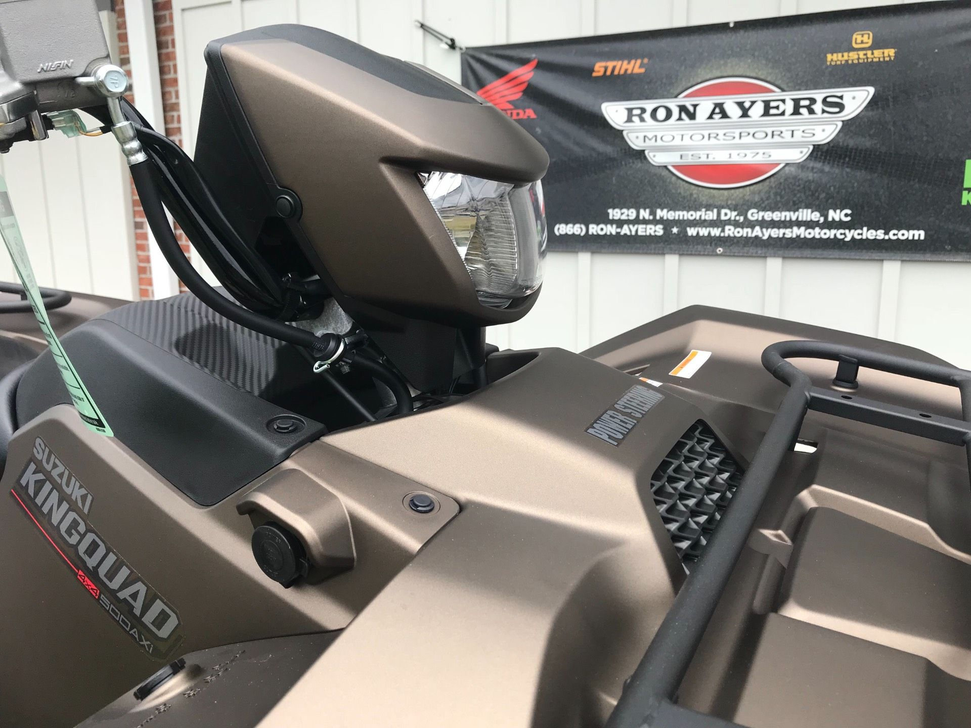 2019 Suzuki KingQuad 500AXi Power Steering SE+ in Greenville, North Carolina - Photo 13