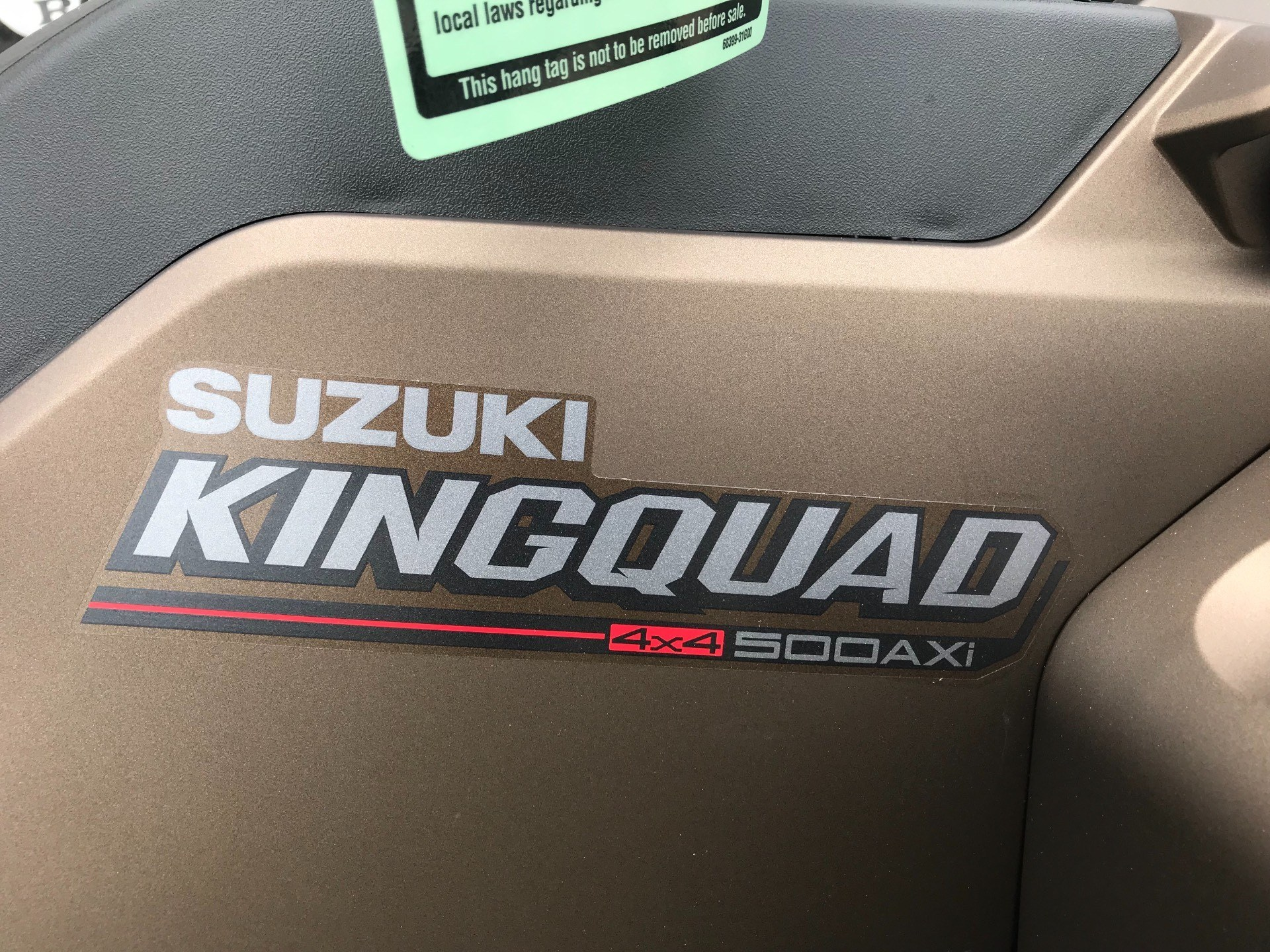 2019 Suzuki KingQuad 500AXi Power Steering SE+ in Greenville, North Carolina - Photo 17