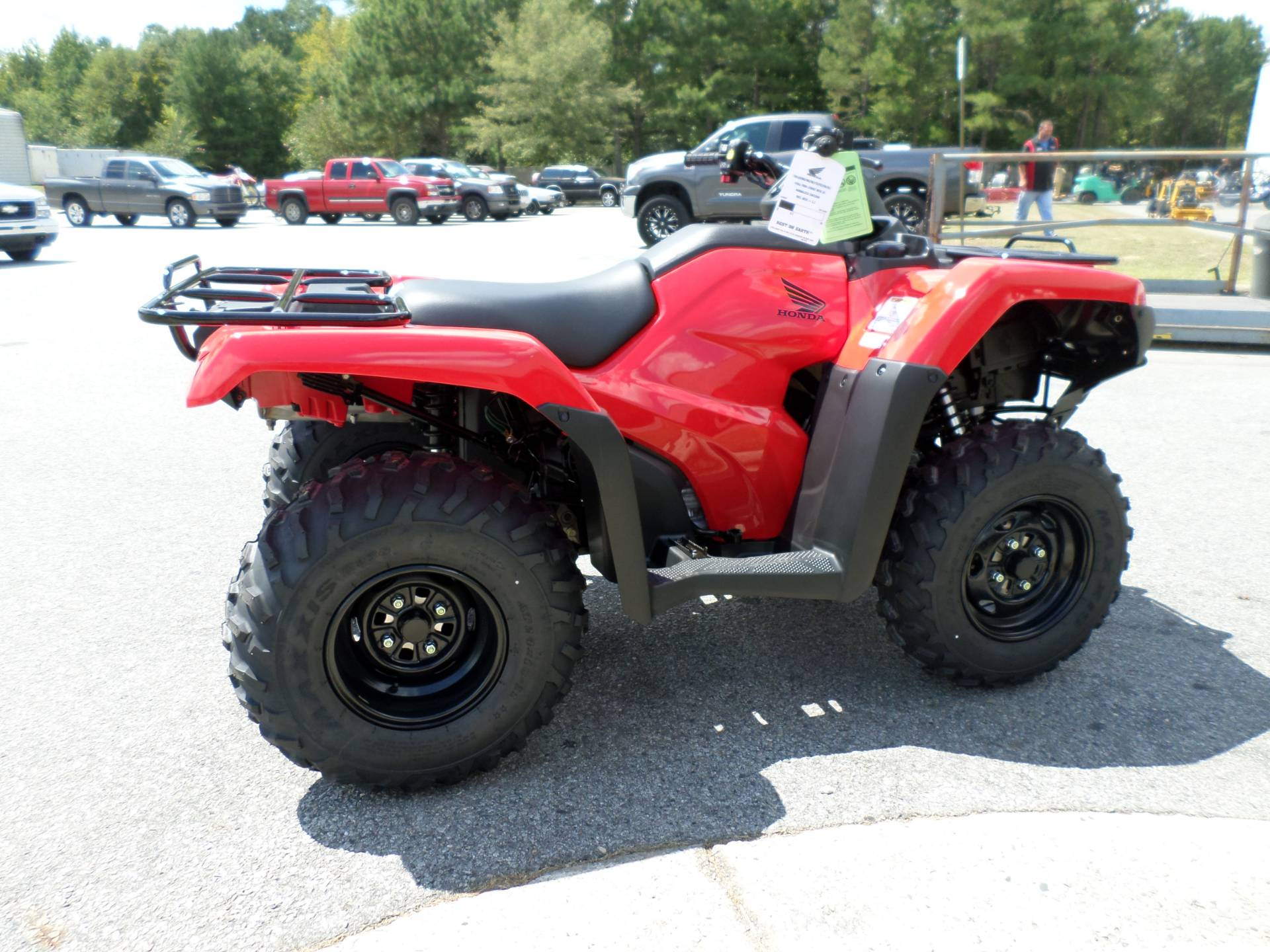 2017 Honda FourTrax Rancher 4x4 DCT EPS in Greenville, North Carolina
