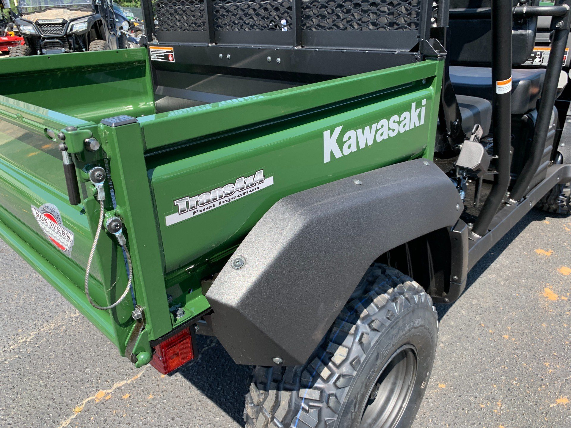 2020 Kawasaki Mule 4010 Trans4x4 in Greenville, North Carolina - Photo 13